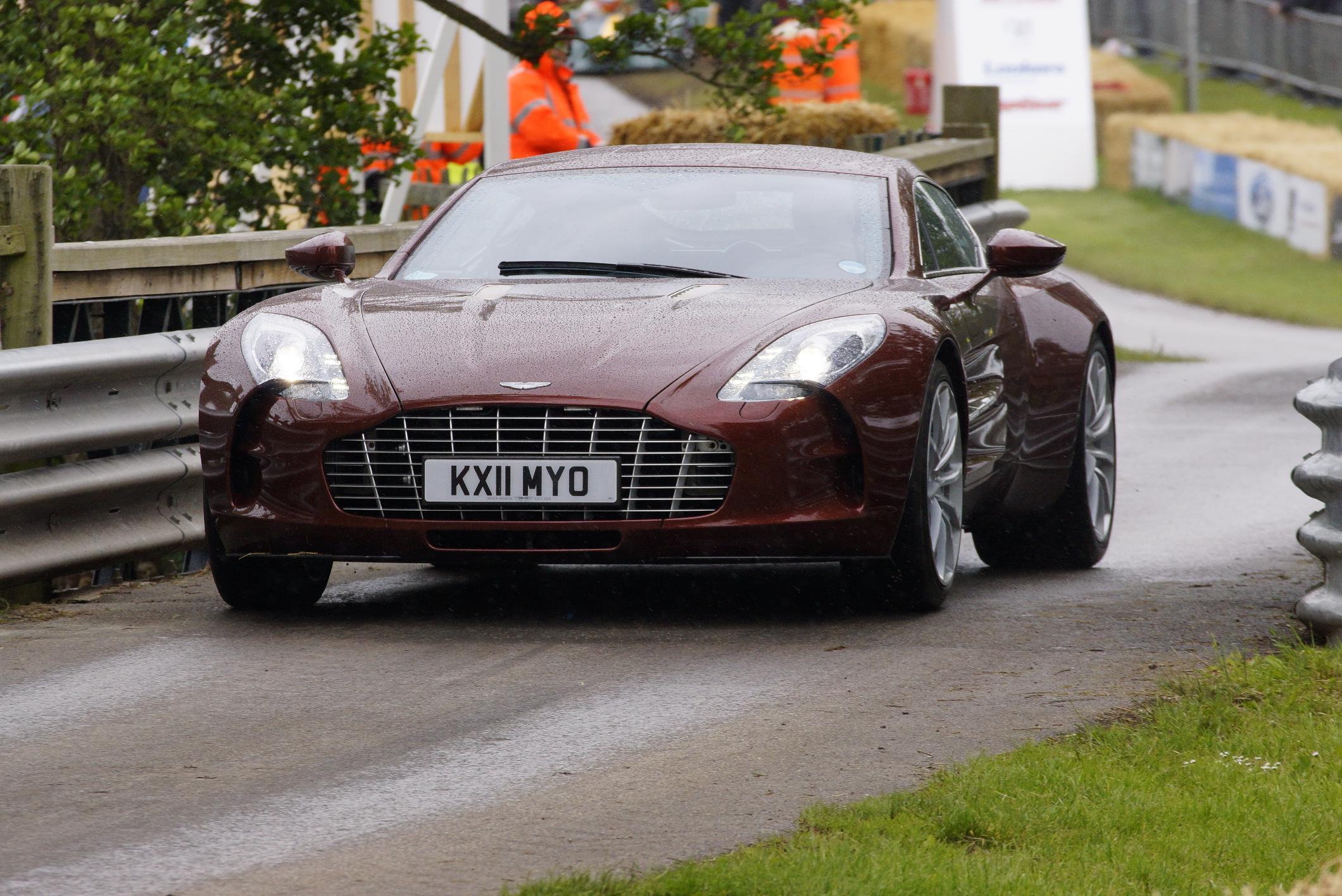 Aston Martin One-77 Cholmondeley 2012