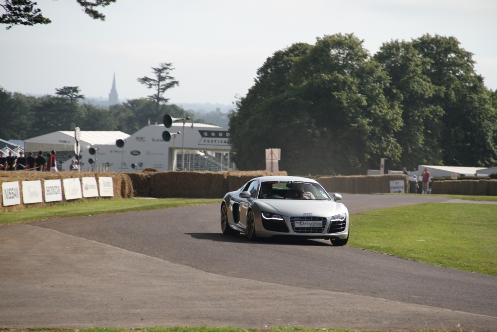 Audi R8 Goodwood Hill