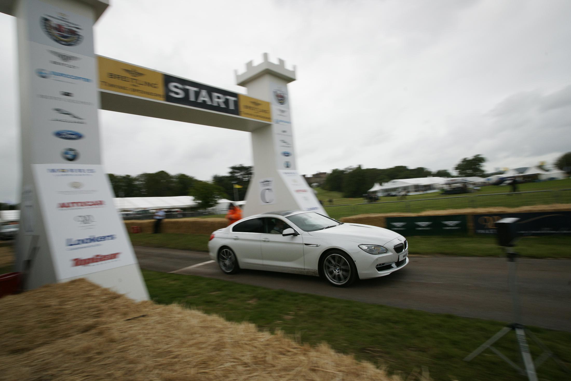 BMW 6 Series Gran Coupé Cholmondeley 2012