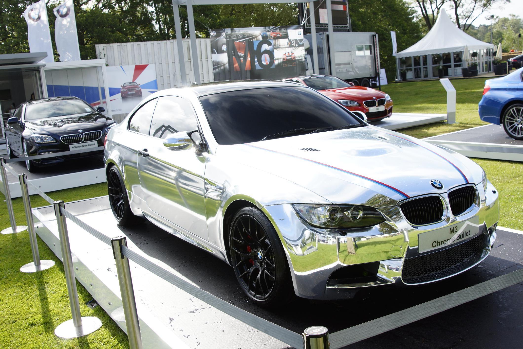 BMW M3 Chrome Bullet Cholmondeley 2012
