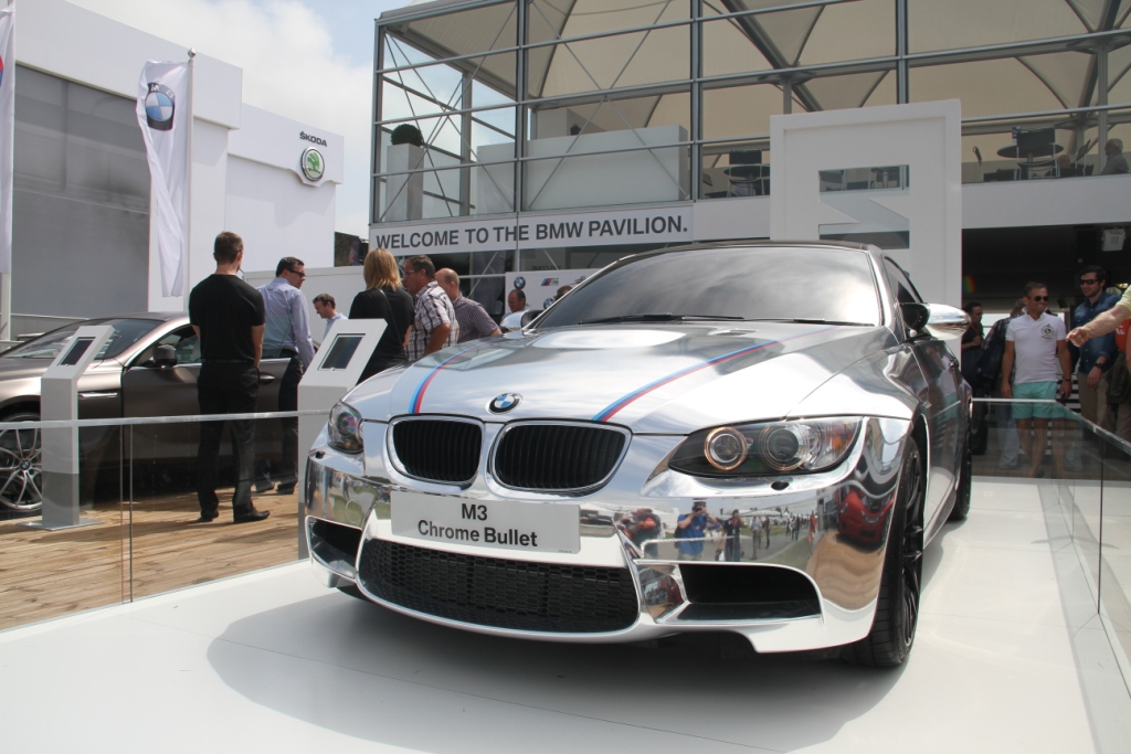 BMW M3 Chrome Bullet