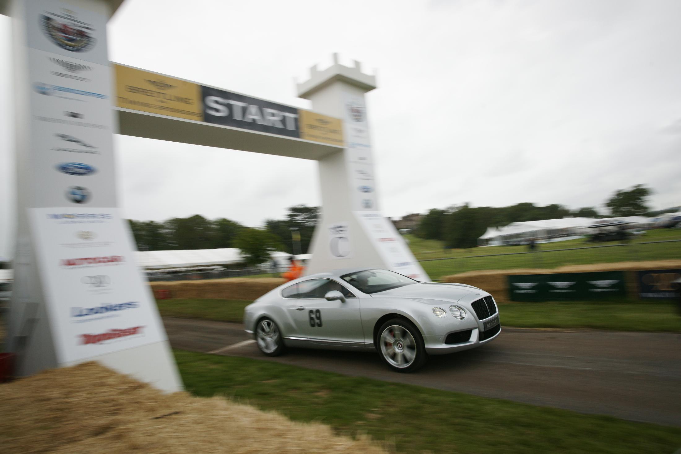 Bentley Continental GT V8 Cholmondeley 2012
