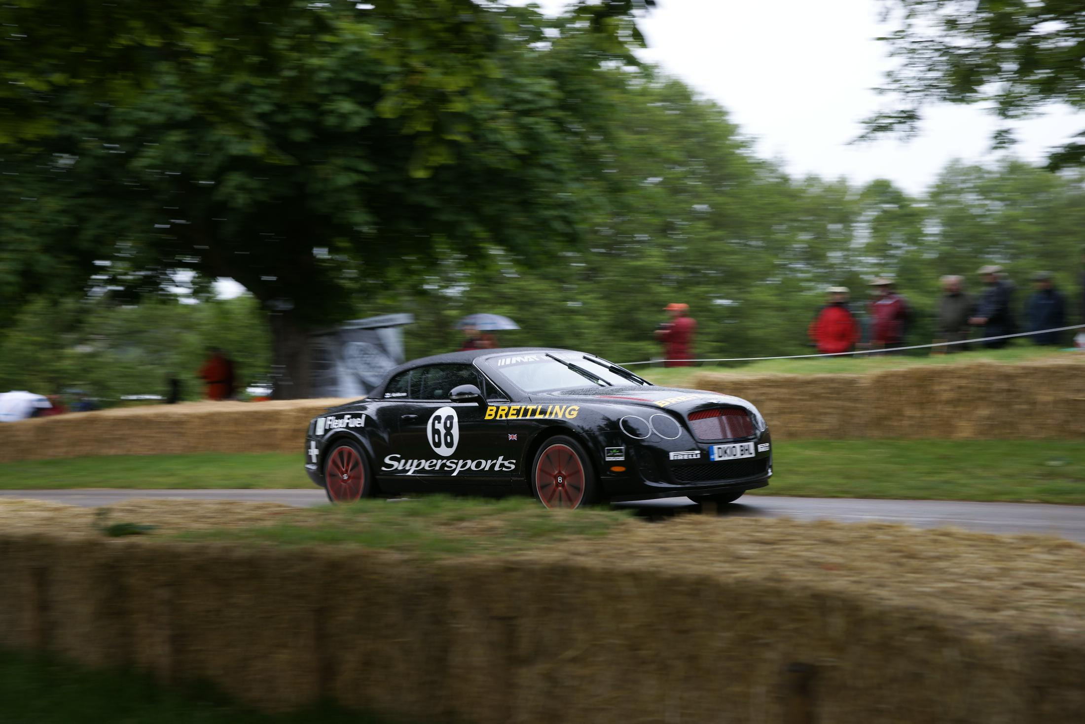 Bentley GTC Supersport Cholmondeley 2012