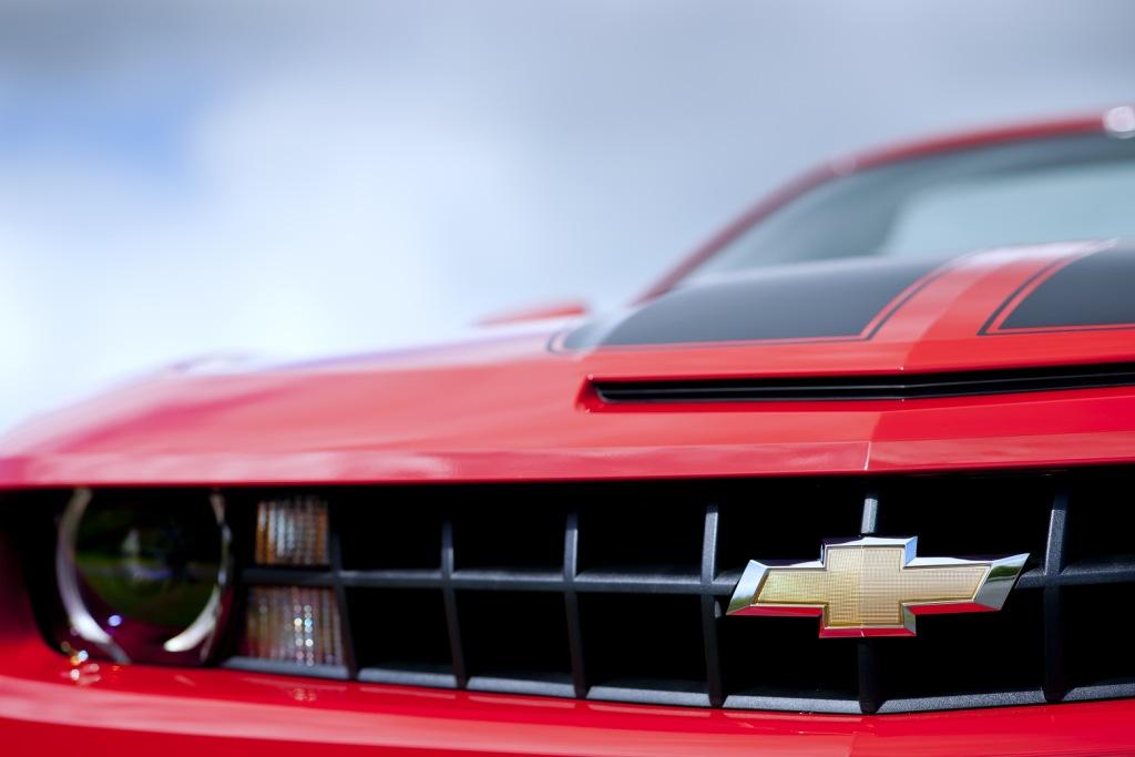 Chevrolet Camaro Convertible Badge