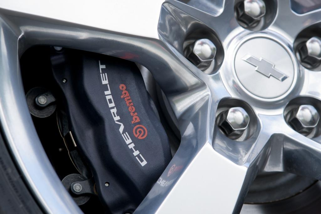 Chevrolet Camaro Convertible Brakes