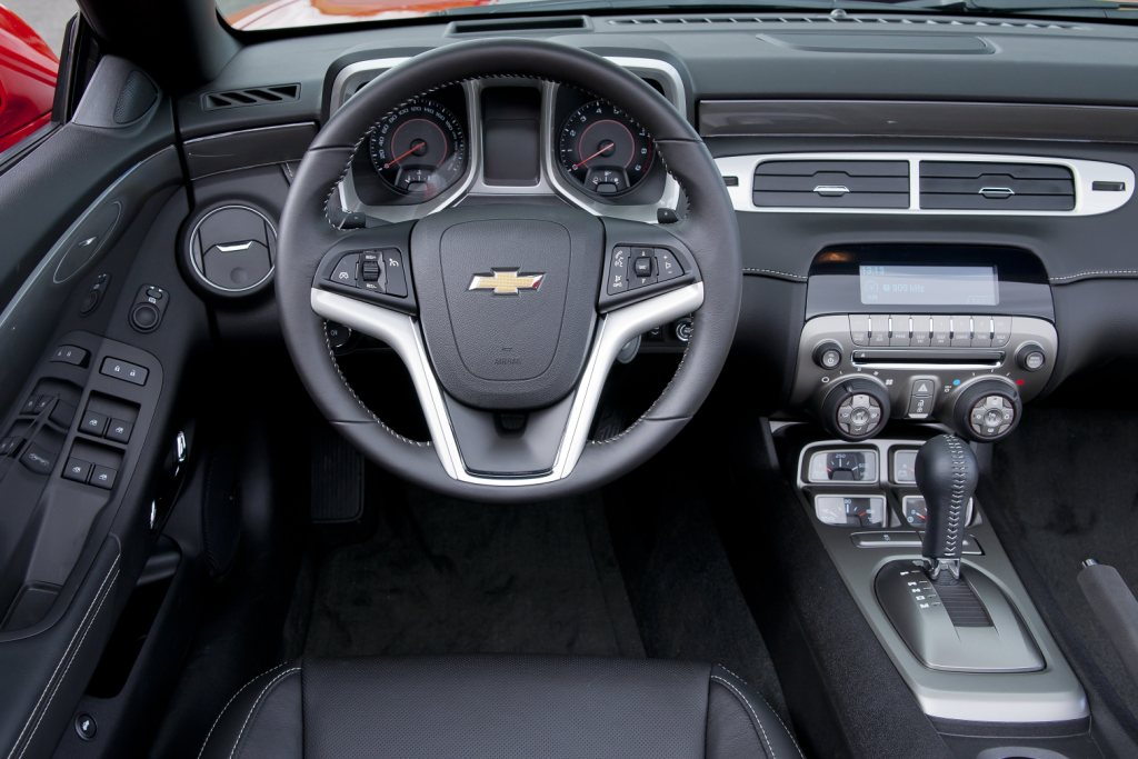 Chevrolet Camaro Convertible Interior