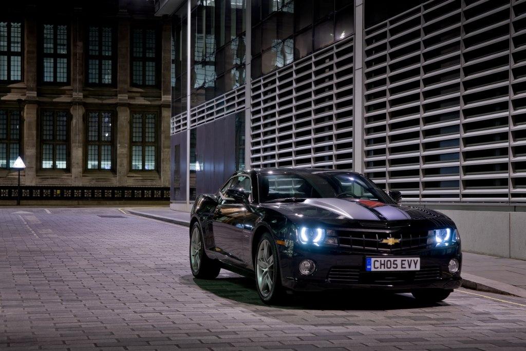 Chevrolet Camaro Coupé Front Lights