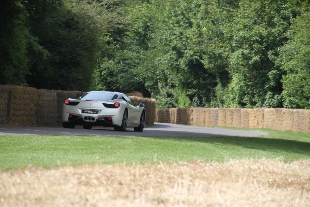Ferrari 458 Rear Hill