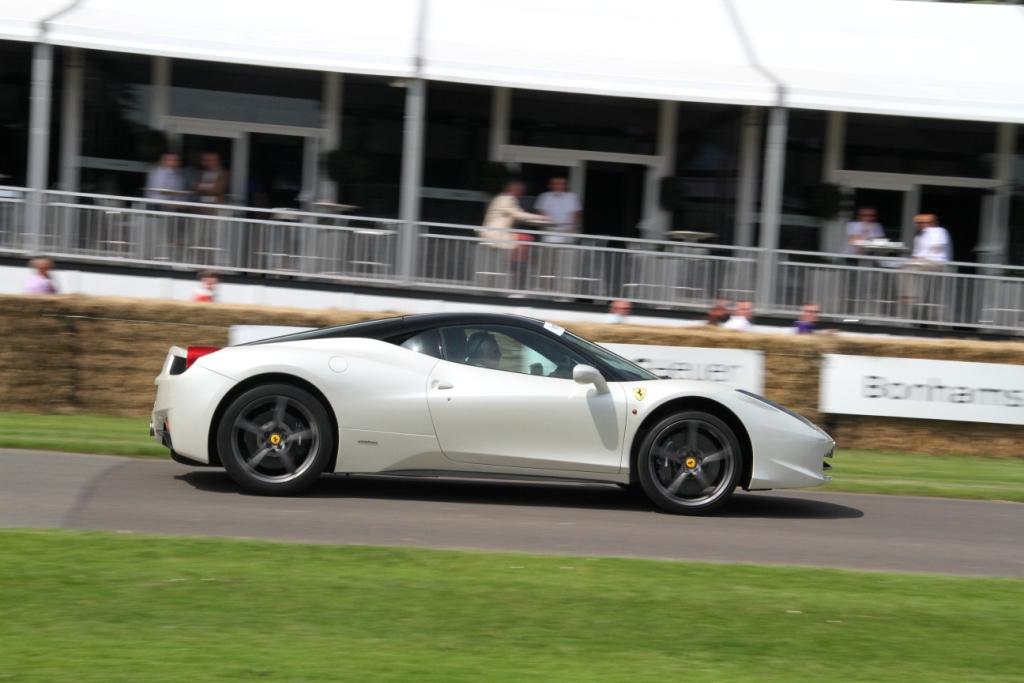 Ferrari 458 Side