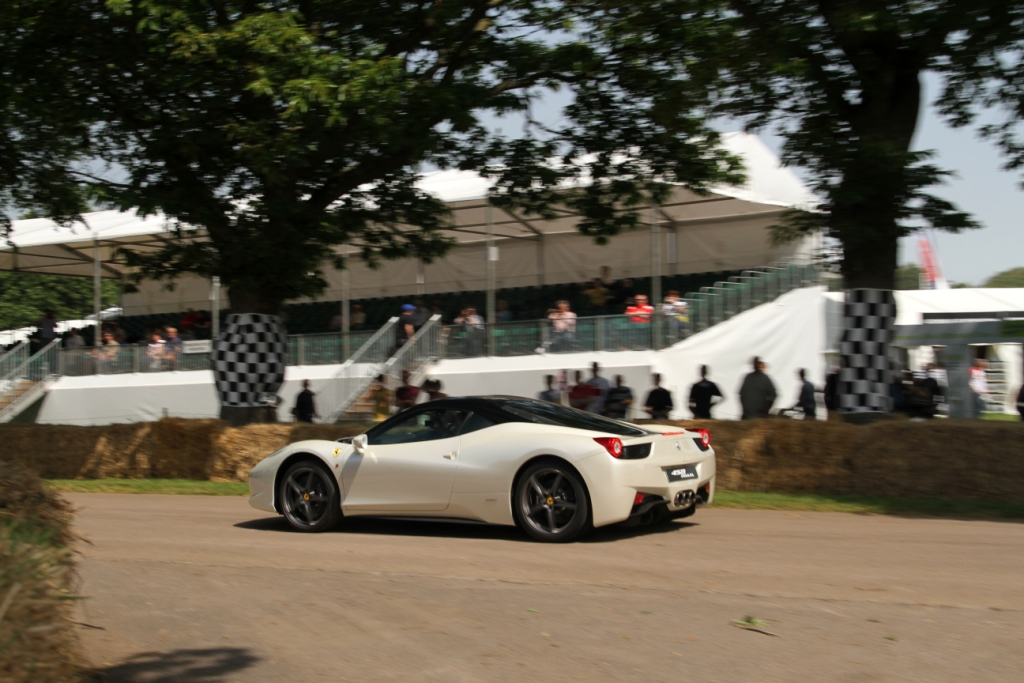Ferrari 458 Start