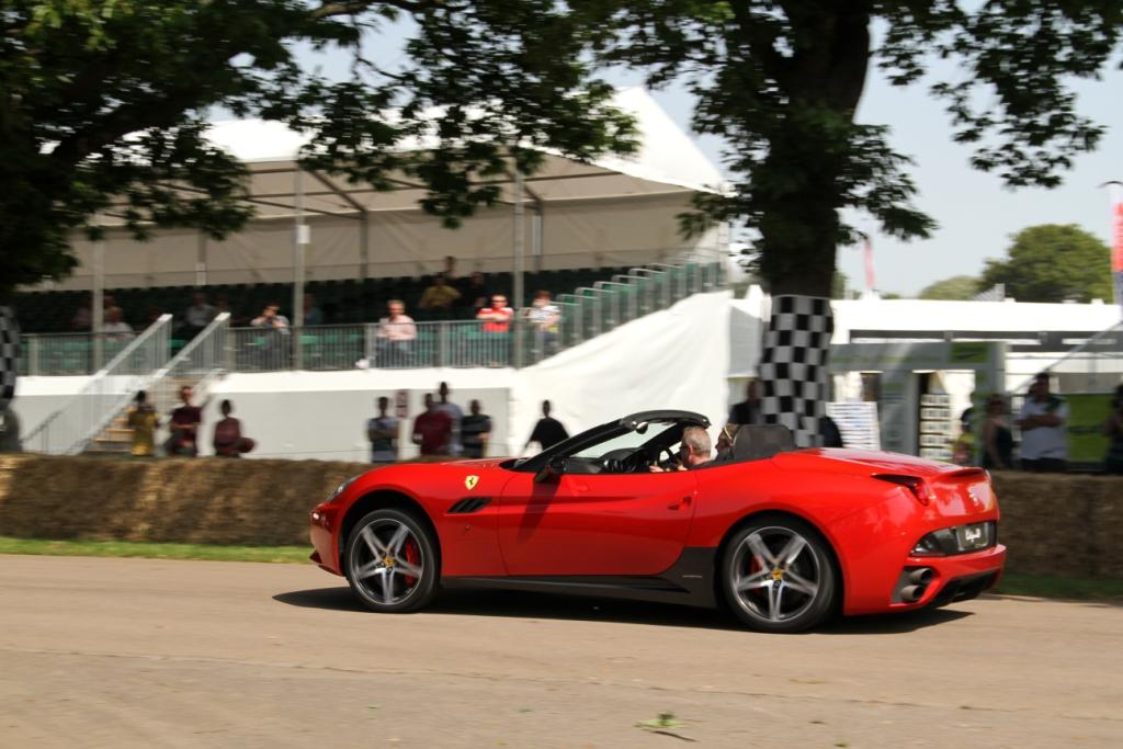 Ferrari California Start