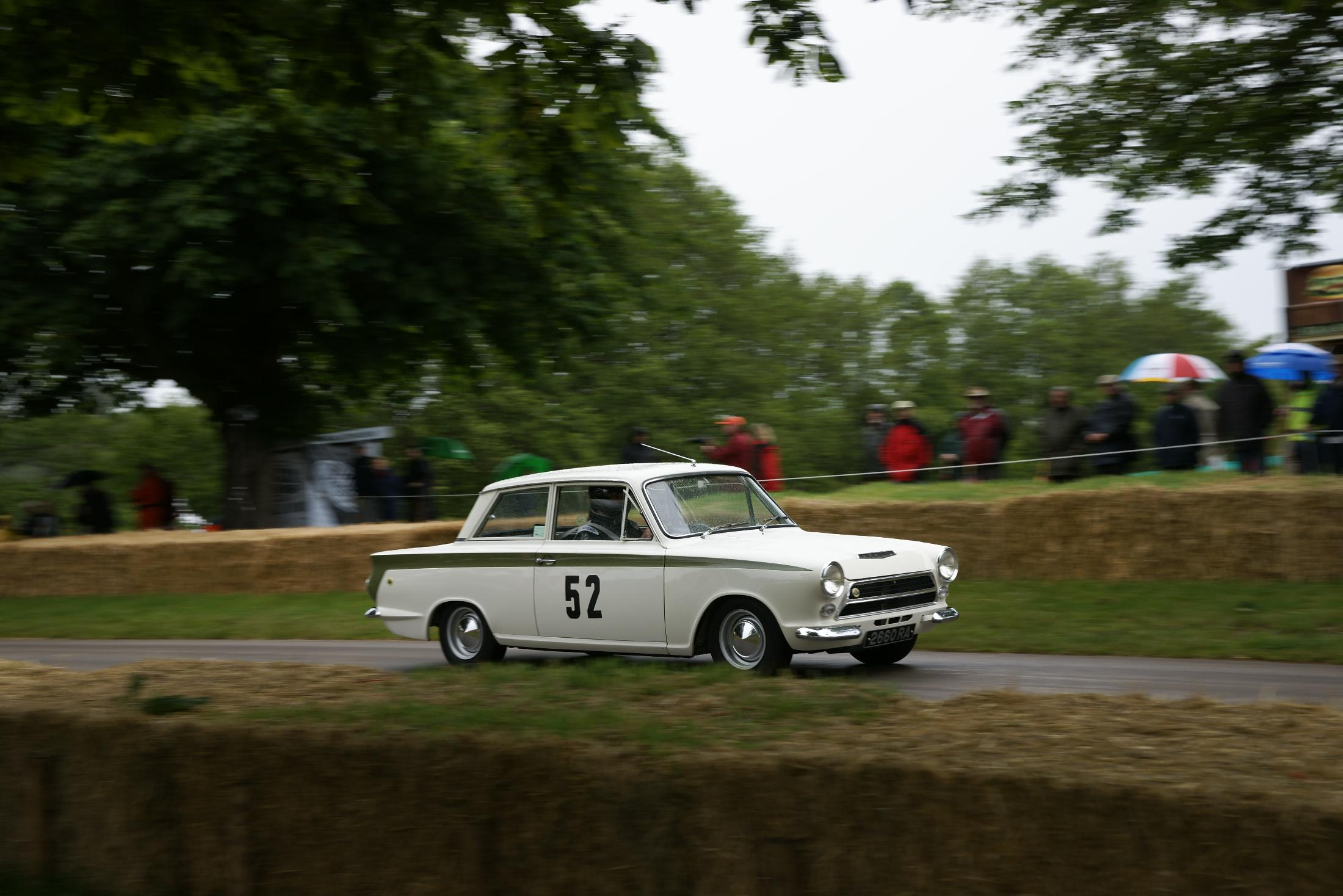 Ford Lotus Cortina Cholmondeley 2012