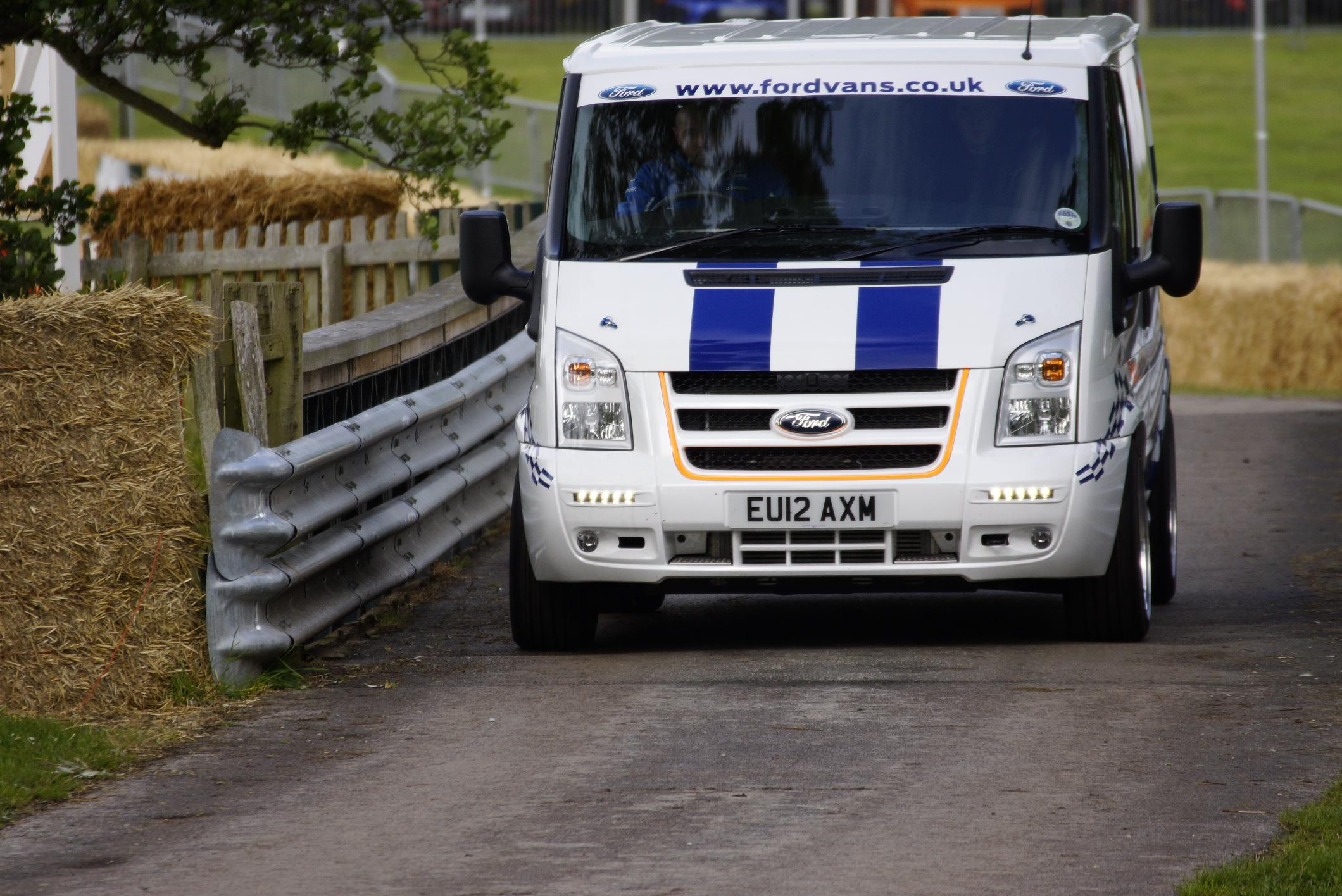 Ford Transit SuperSportVan Cholmondeley 2012