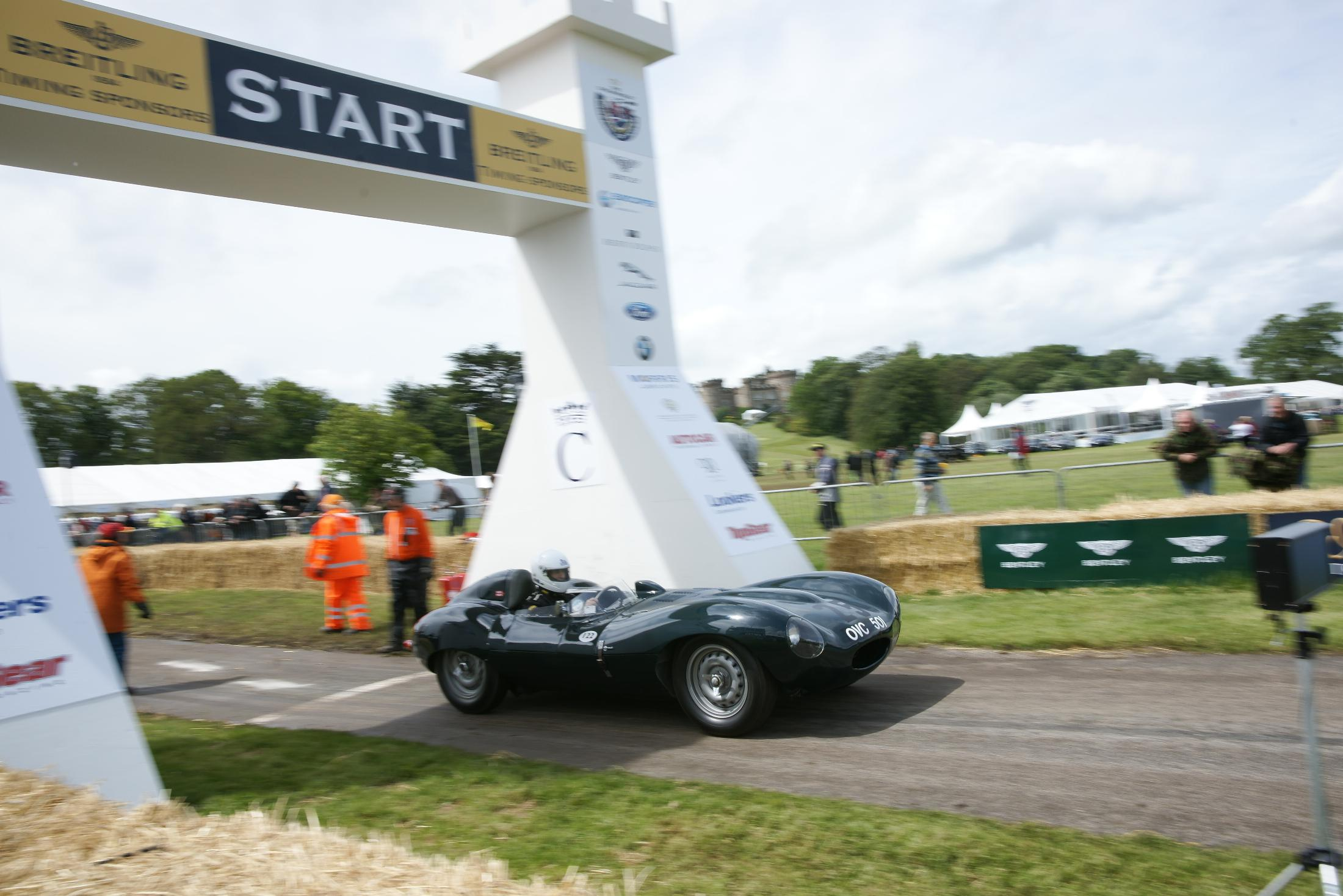 Jaguar D Type Cholmondeley 2012