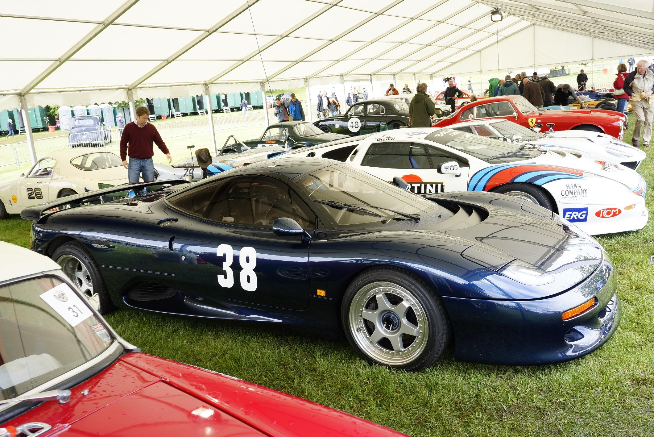Jaguar XJR-15 Cholmondeley 2012