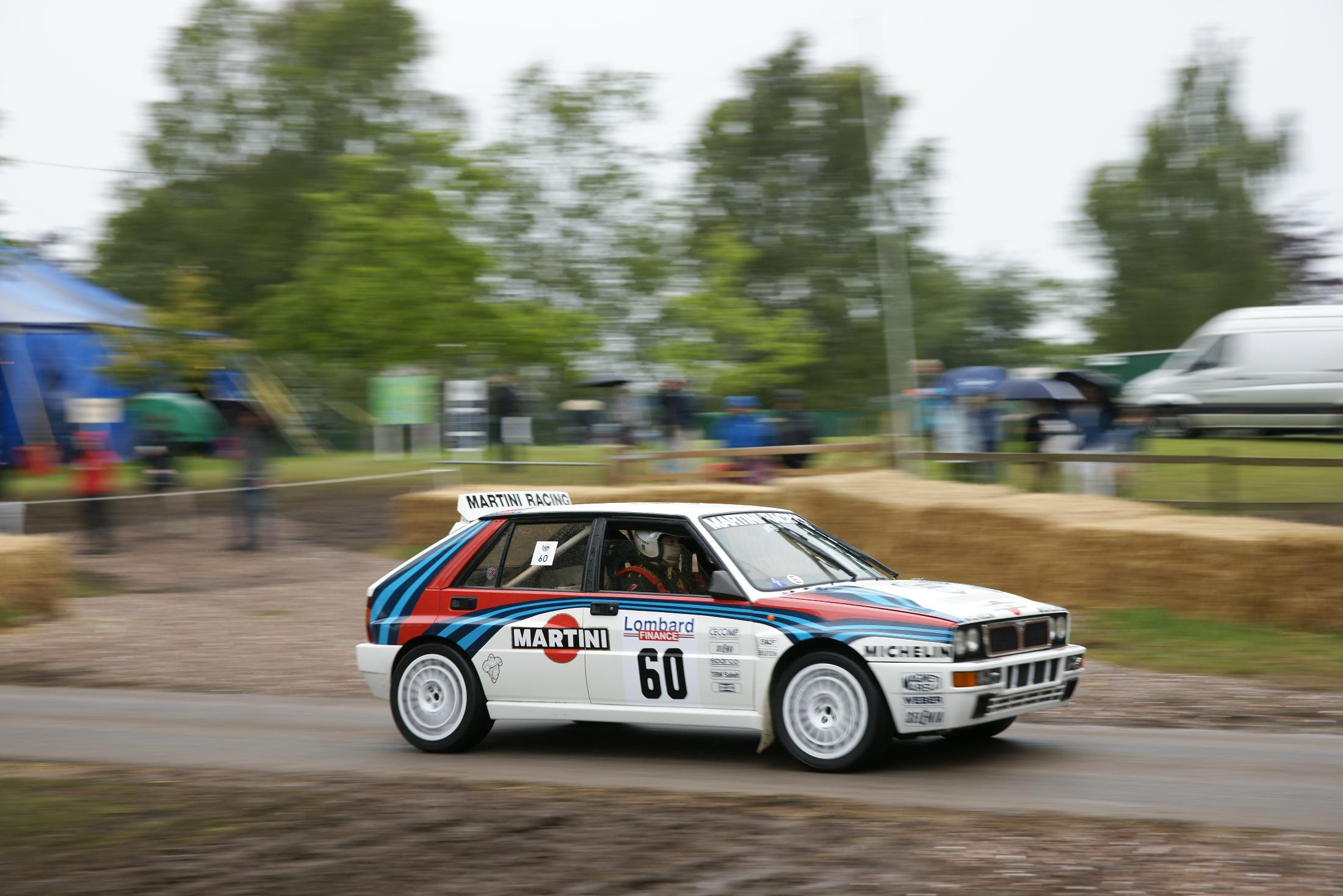 Lancia Delta Integrale Evolution Cholmondeley 2012