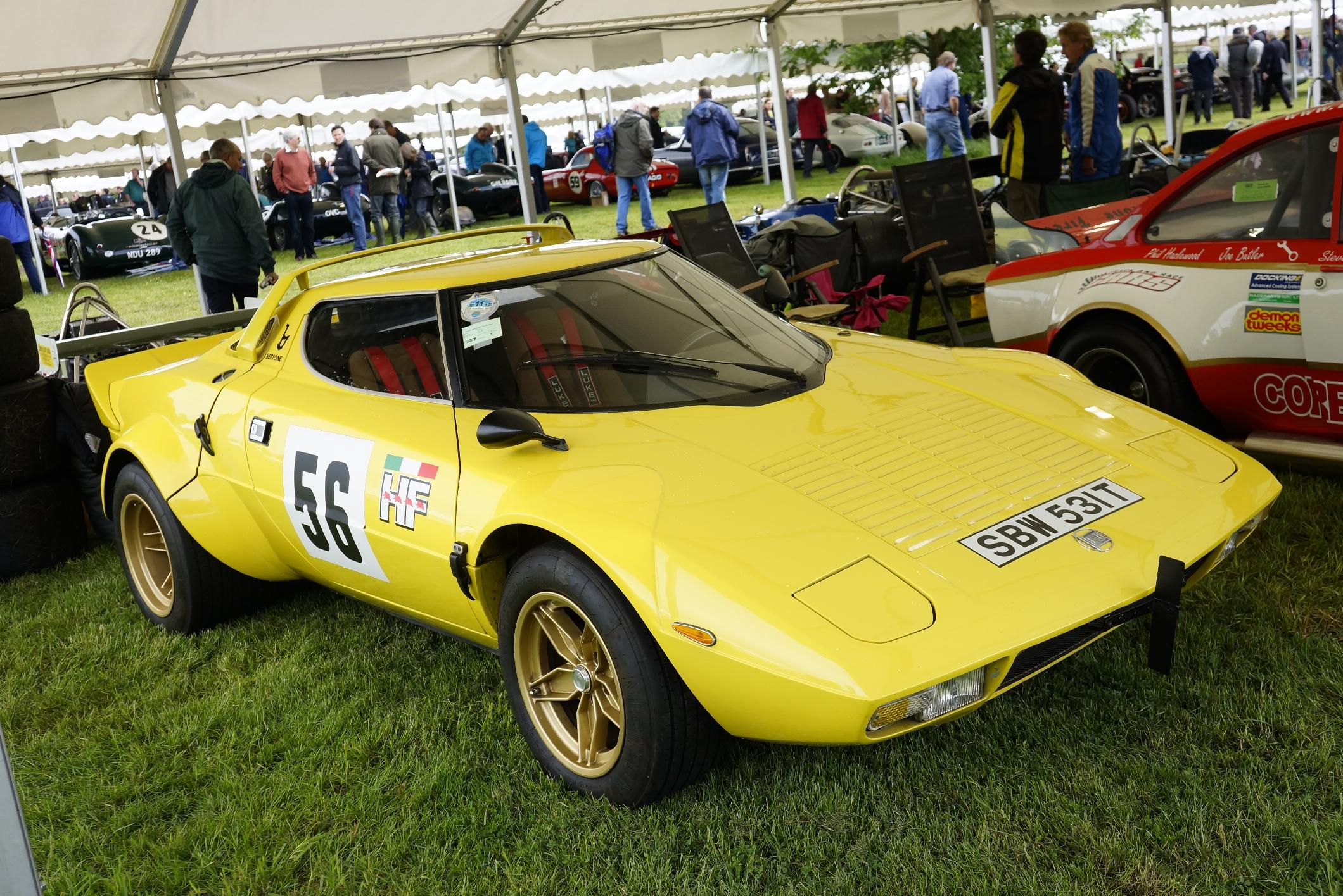 Lancia Stratos Cholmondeley 2012