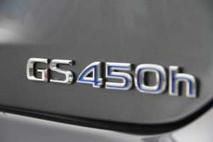 Lexus GS 450h F Sport Badge