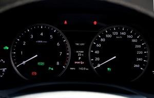 Lexus GS 450h F Sport Dials