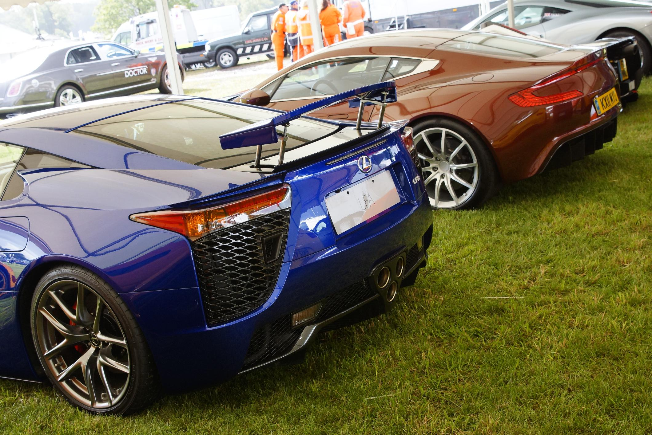Lexus LFA Cholmondeley 2012