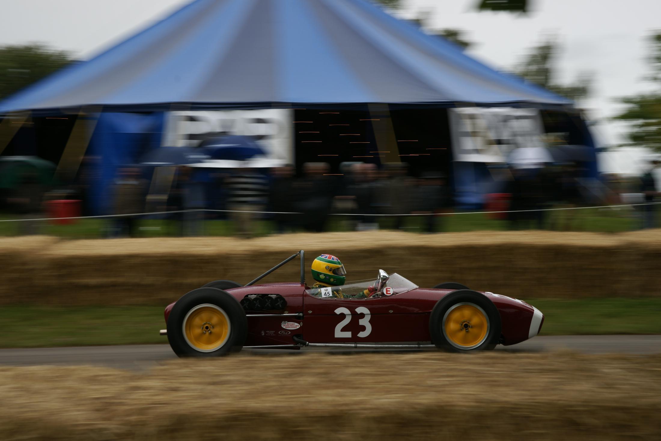 Lotus 18 F1 Cholmondeley 2012