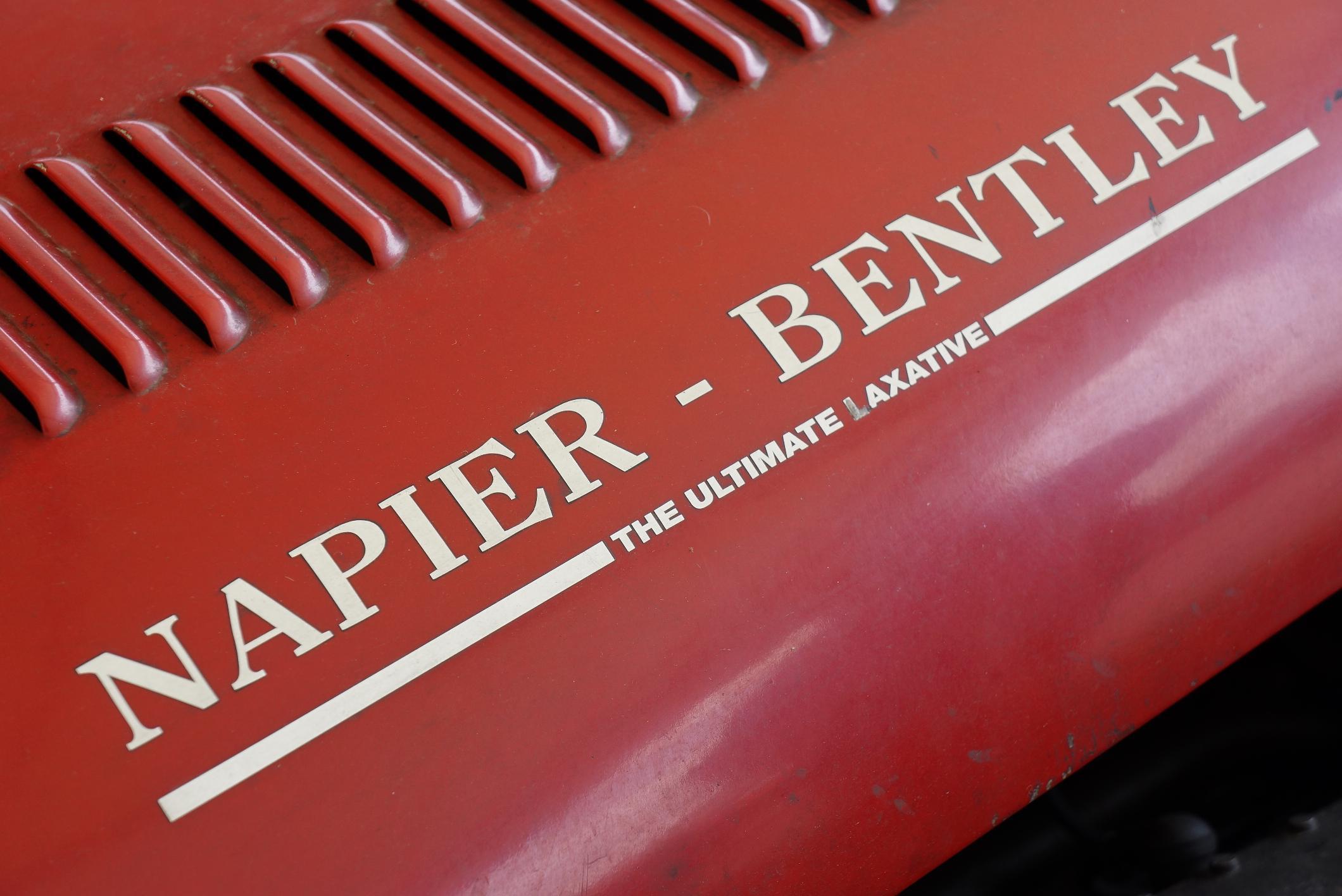 Napier Bentley Badge Cholmondeley 2012