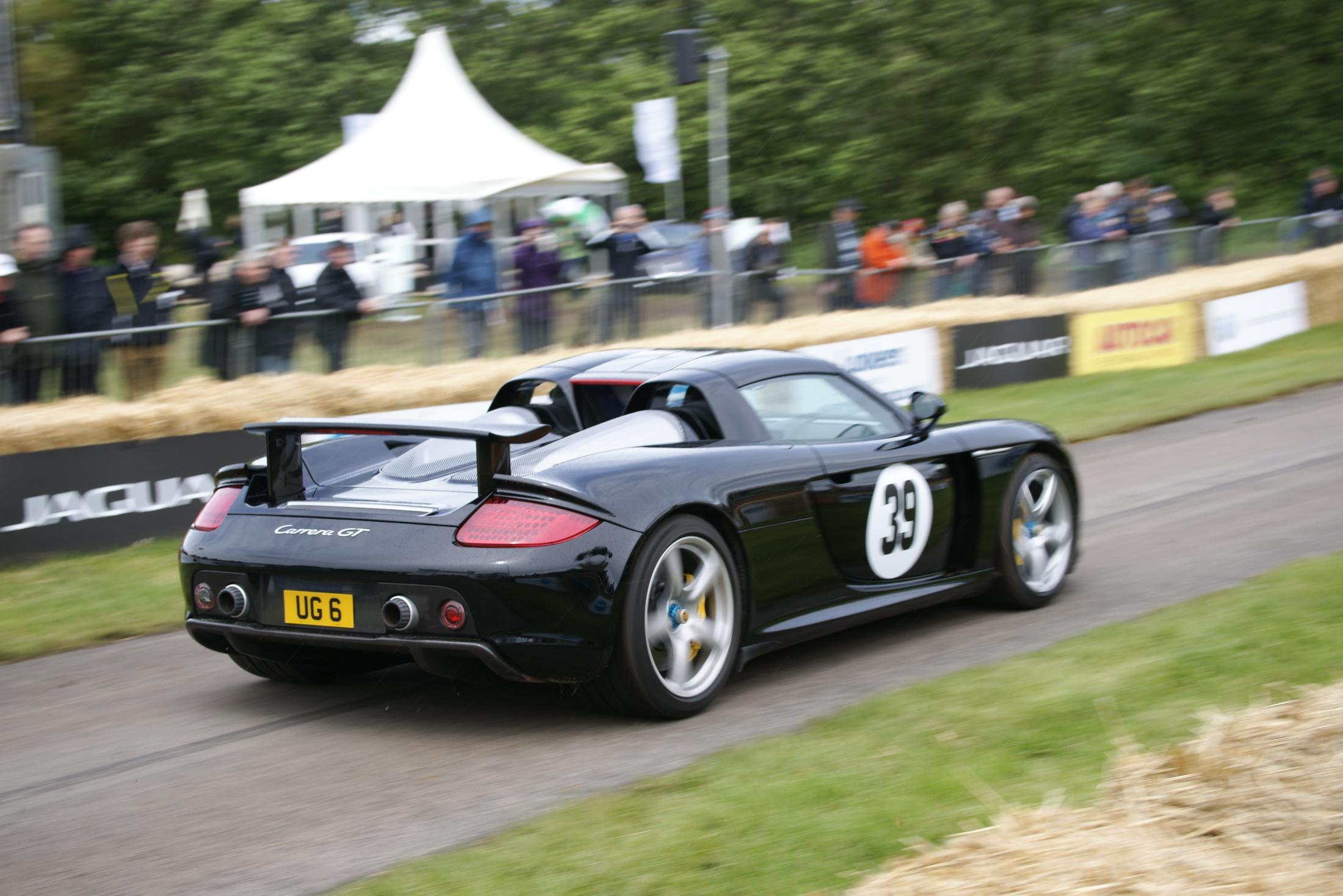 Porsche Carrera GT Cholmondeley 2012