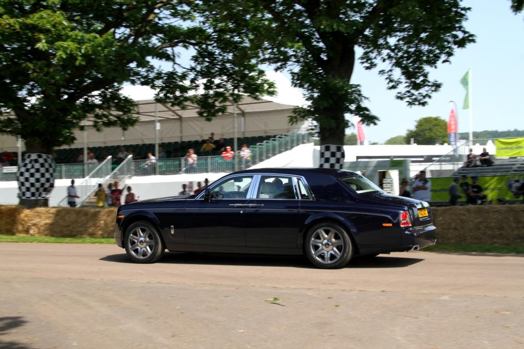 Rolls Royce Phantom Start