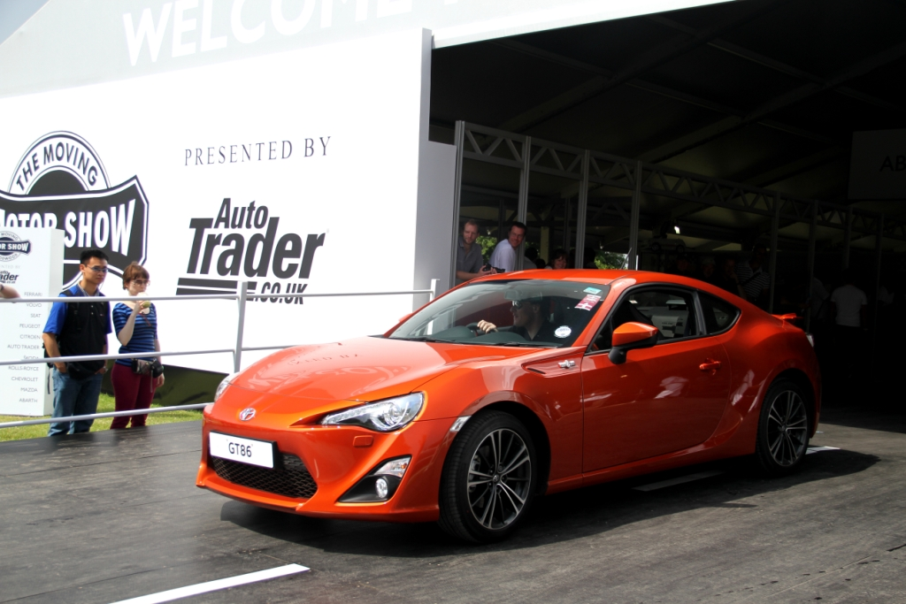 Toyota GT86 Parked