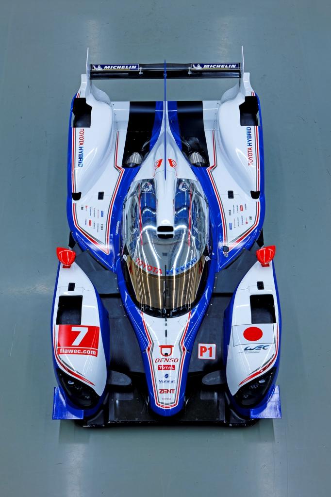 Toyota TS030 Hybrid LMP1 Top