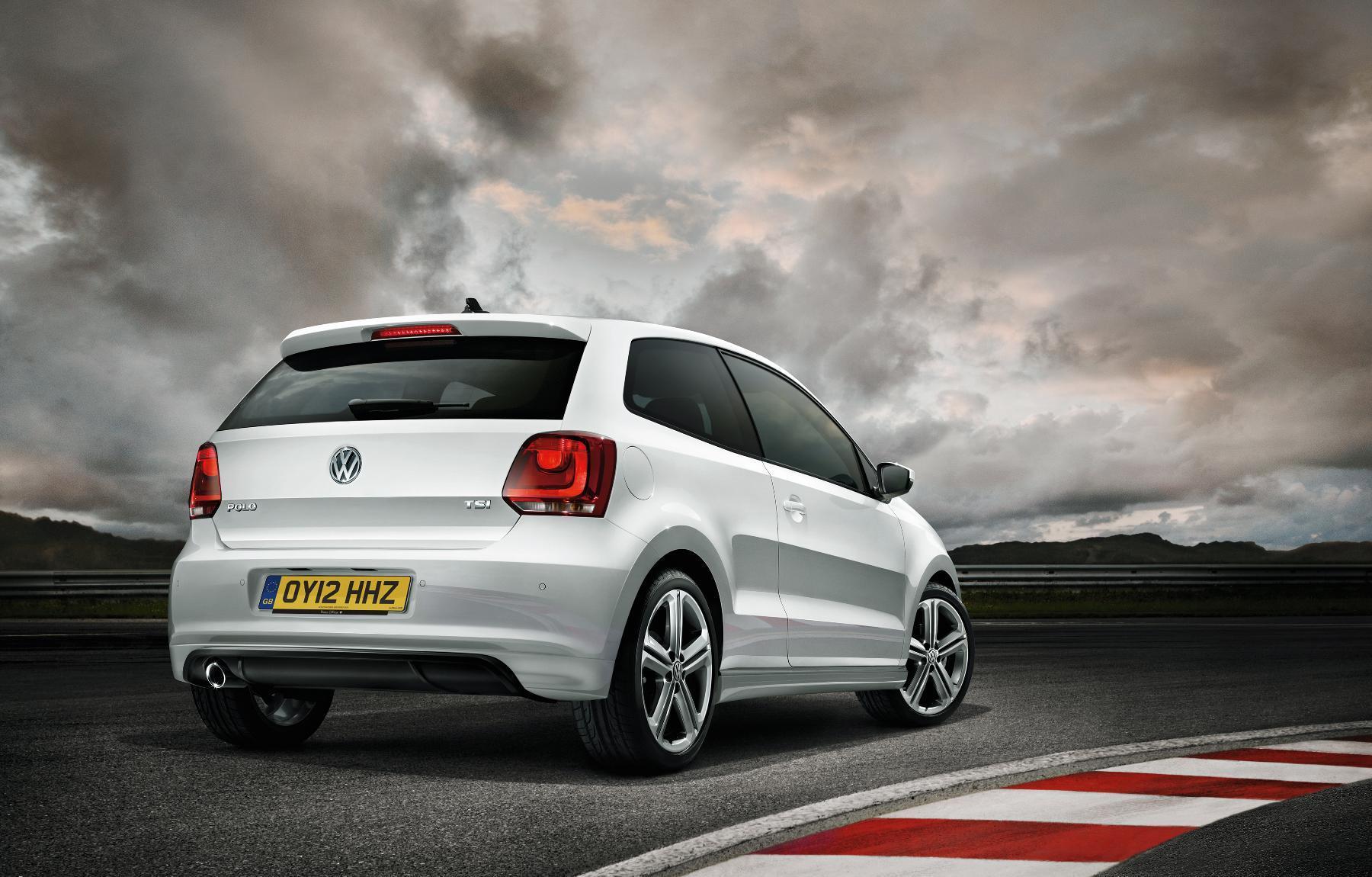 VW Polo R Rear