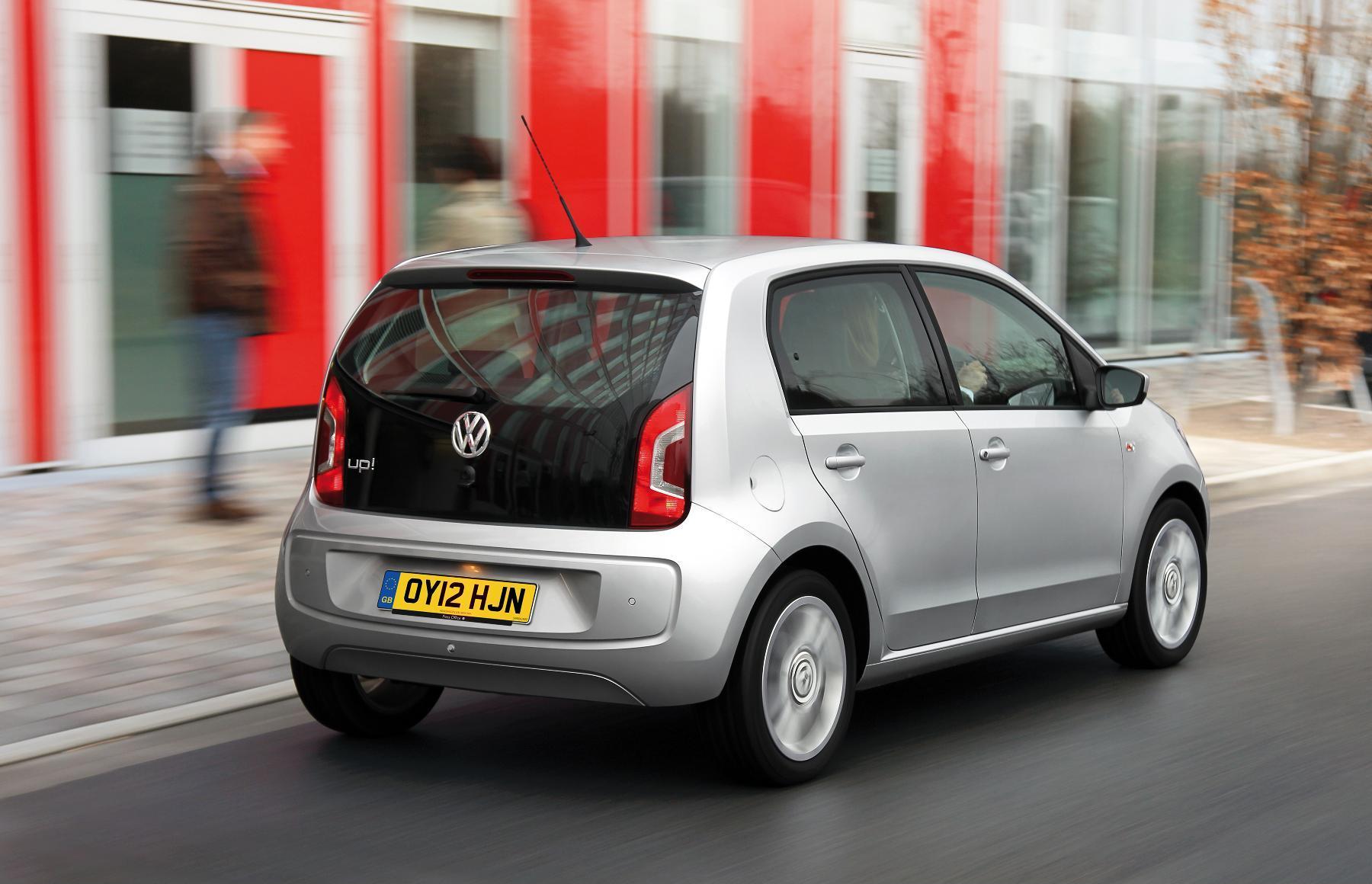VW Up Five Door Rear