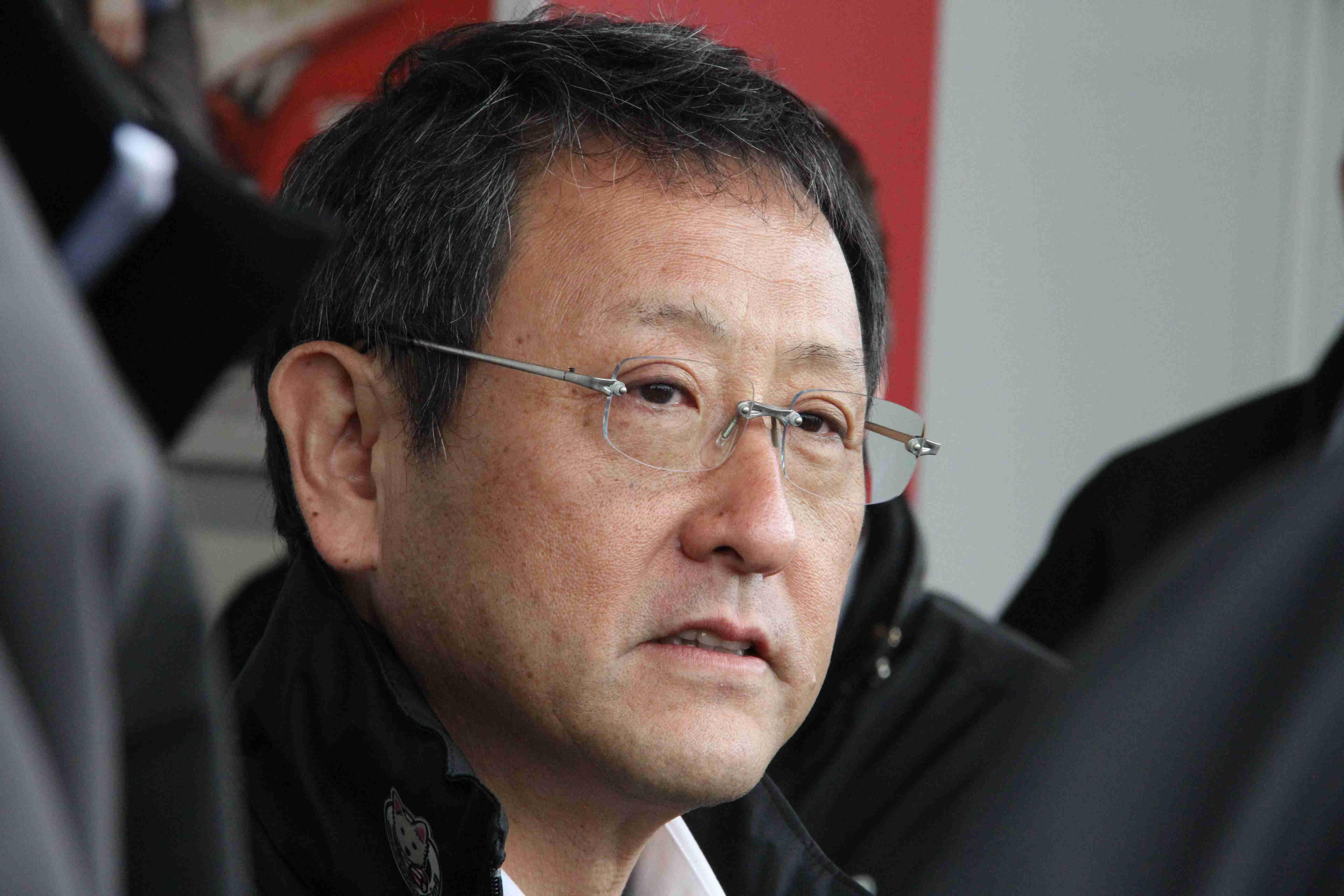 Akio Toyoda Goodwood 2