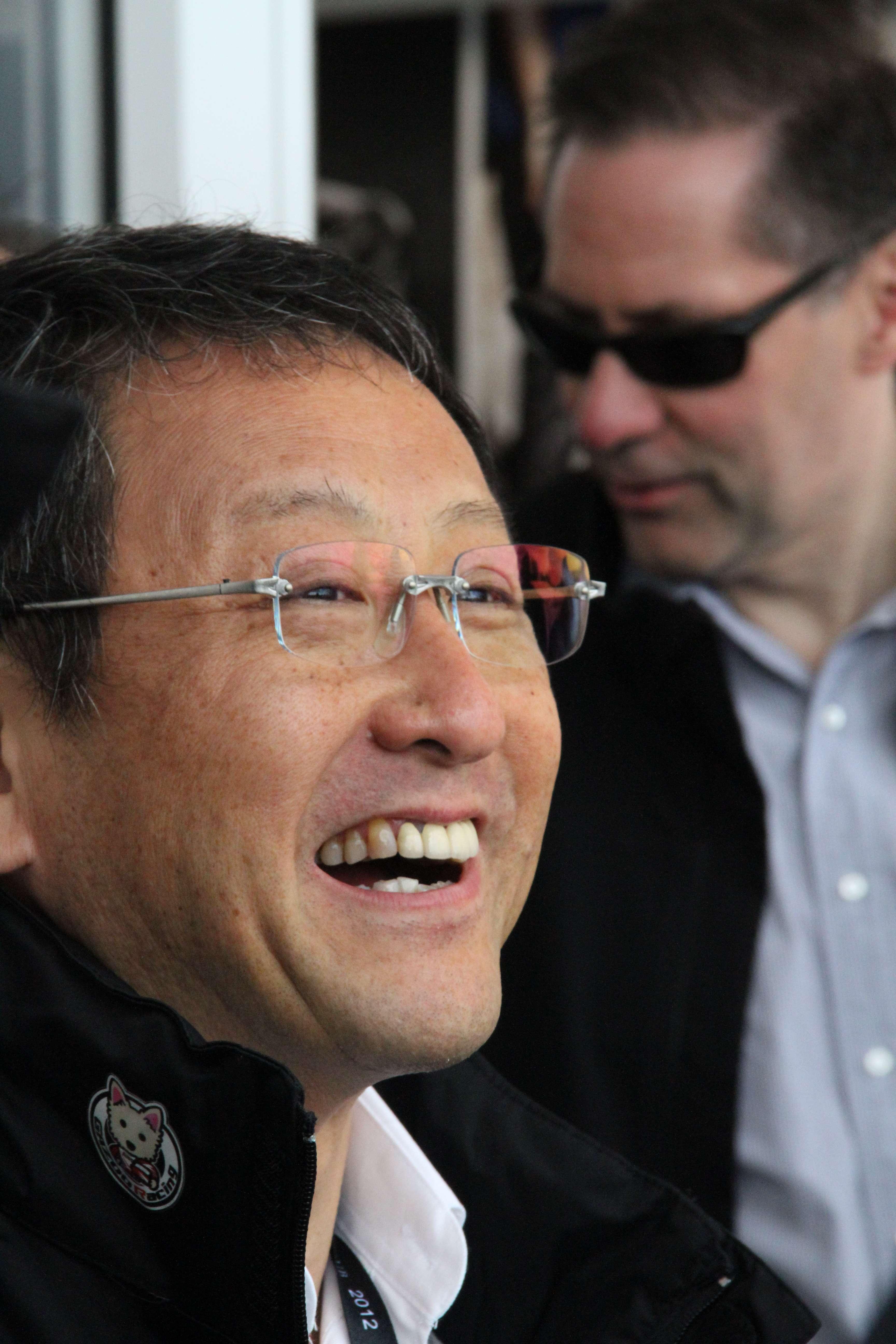 Akio Toyoda Laugh