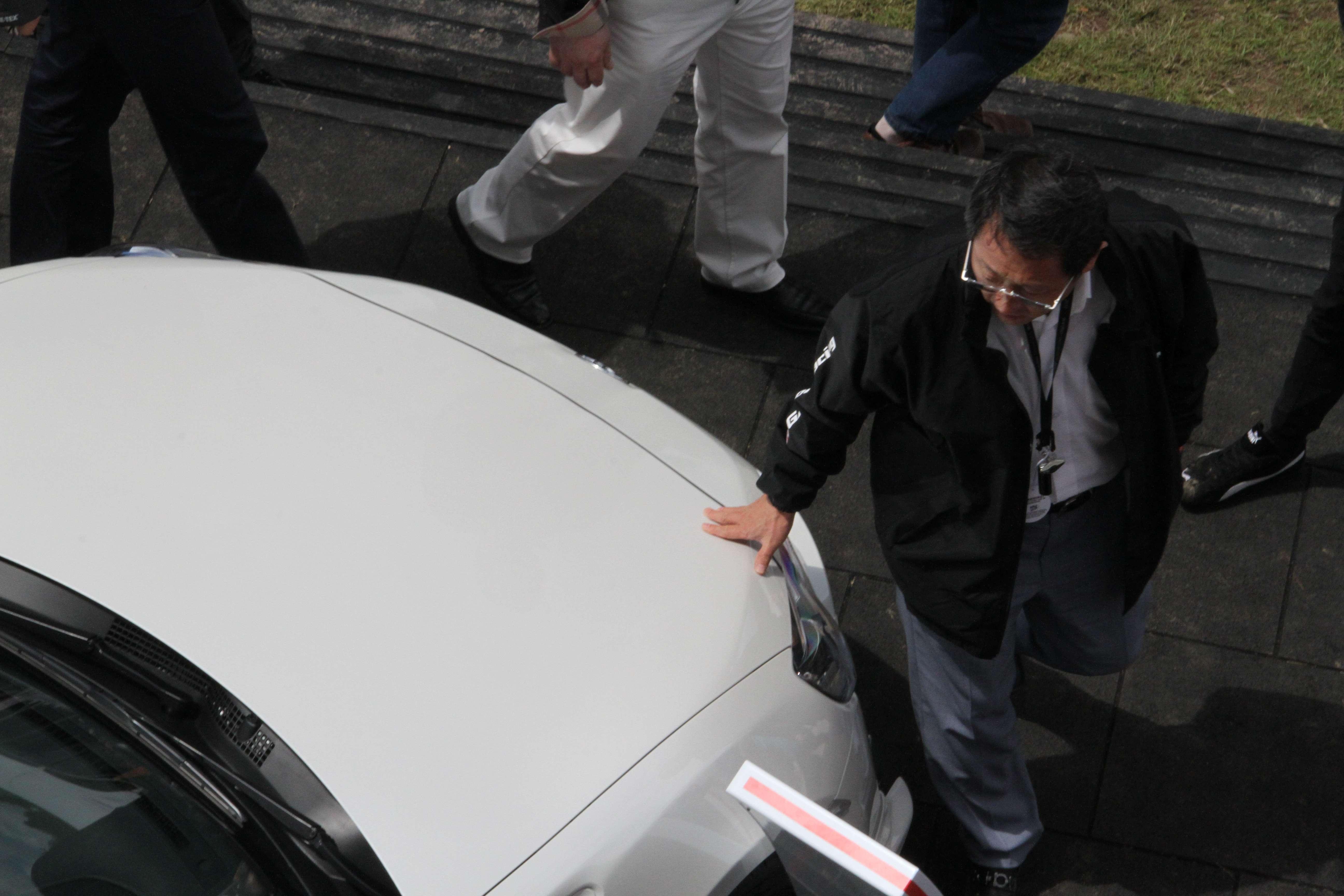 Akio Toyoda Toyota GT86