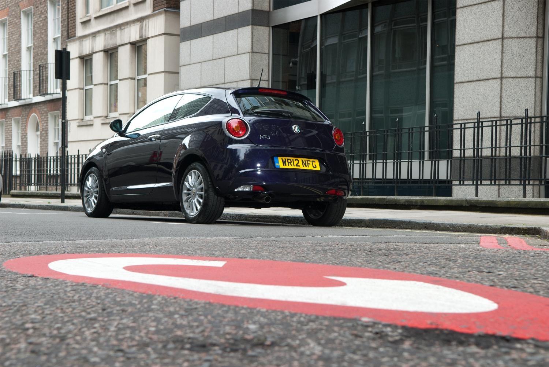 Alfa Romeo Mito TwinAir Turbo Congestion Charge