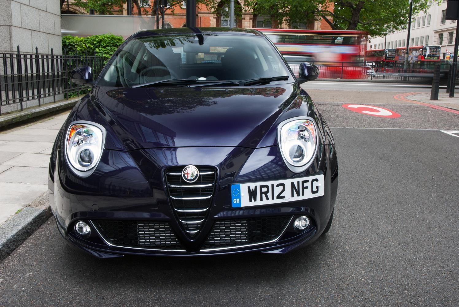 Alfa Romeo Mito TwinAir Turbo Parked