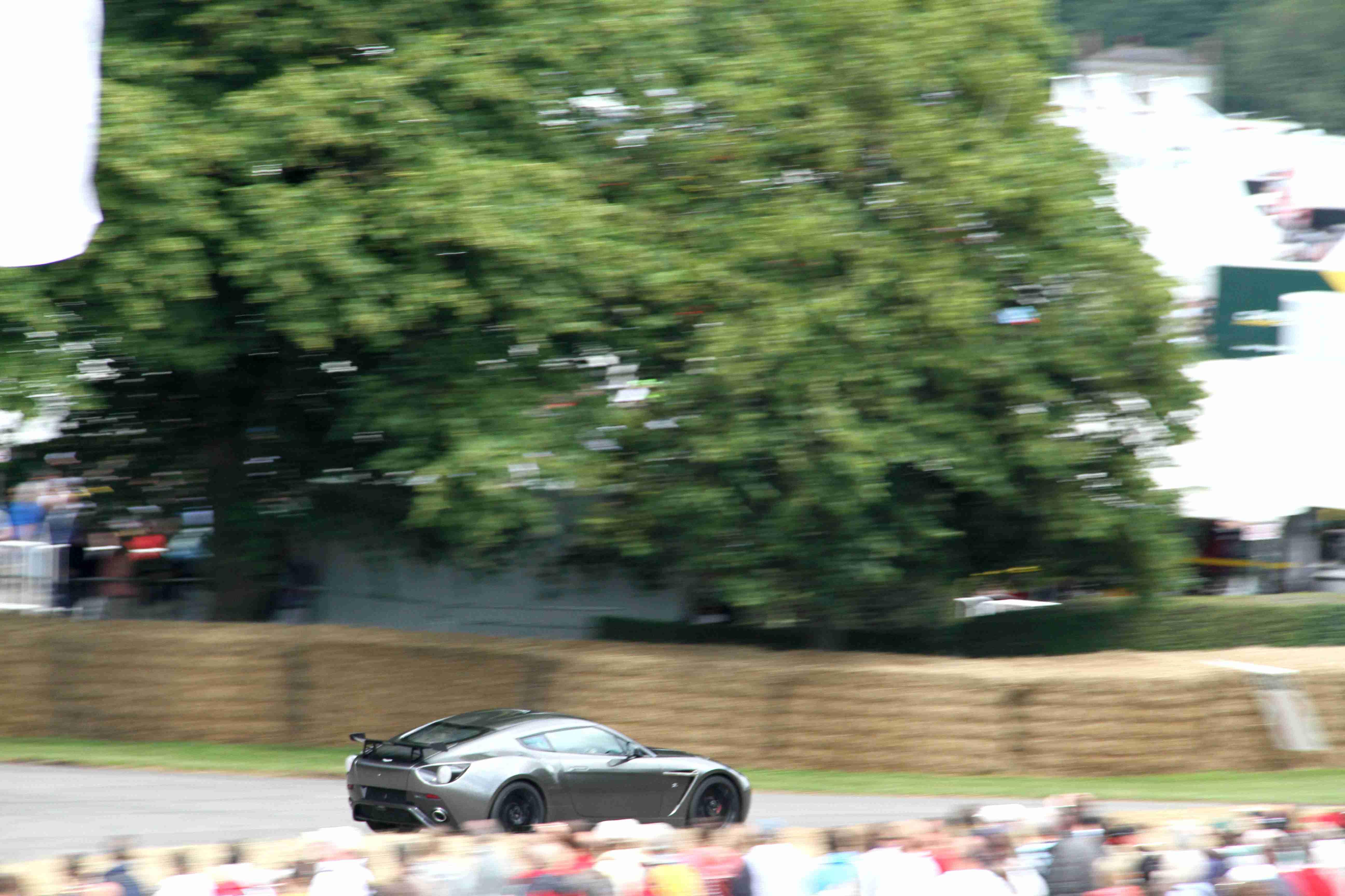 Aston Martin V12 Vantage Zagato Rear