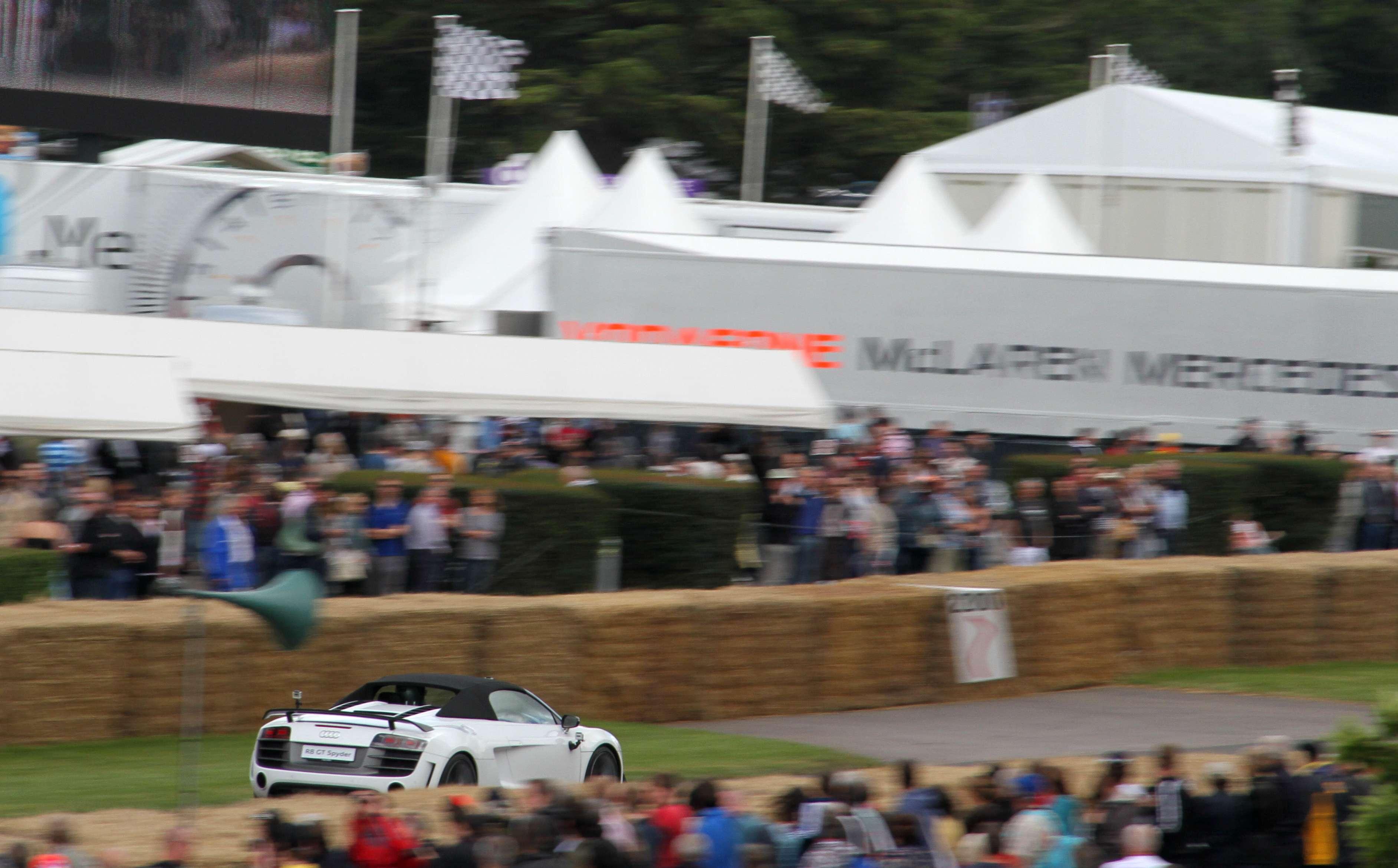 Audi R8 GT Spider