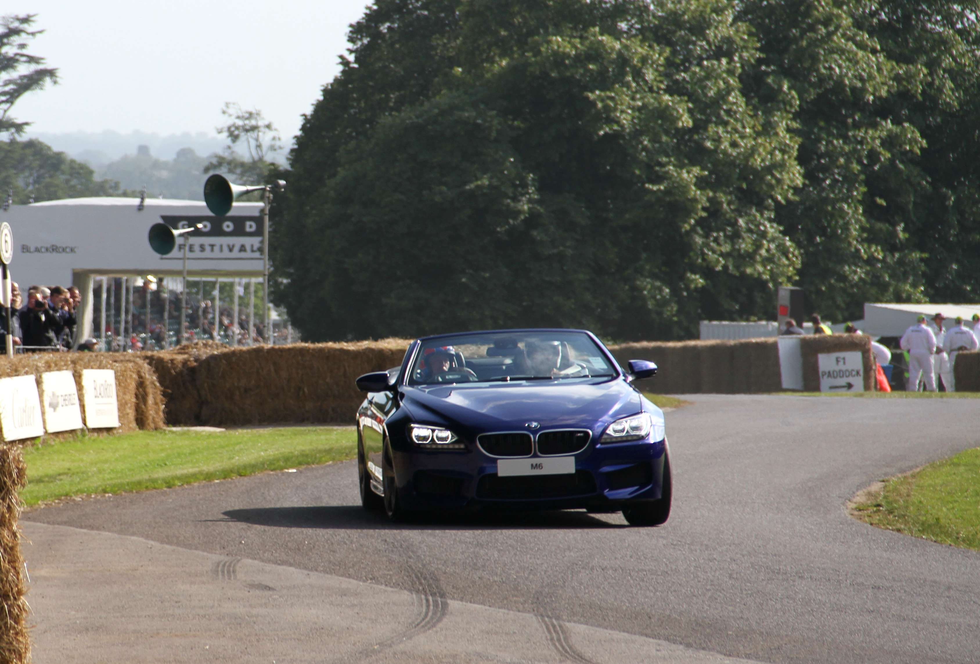 BMW M6 Convertible Tiff Needell