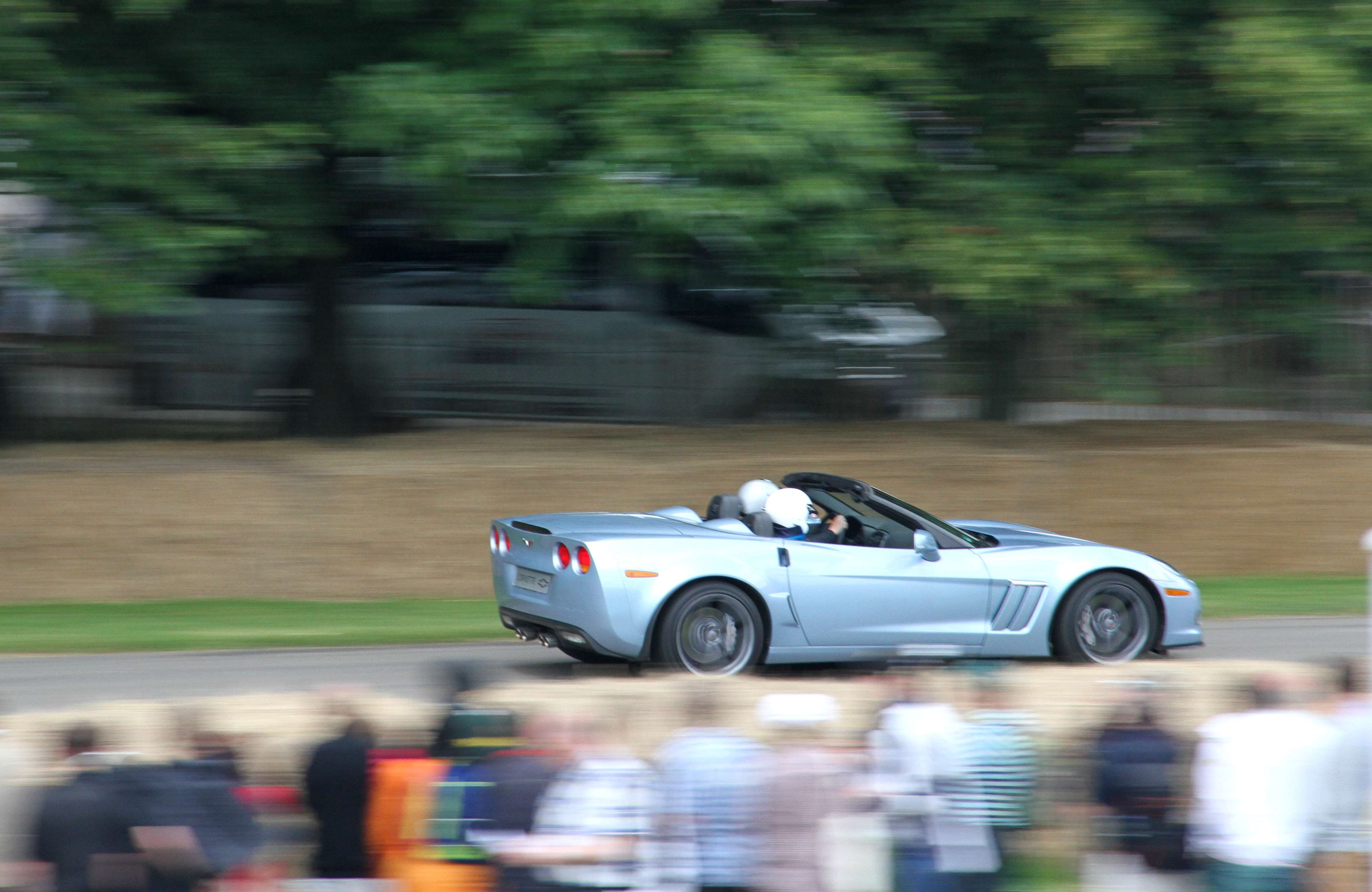 Corvette ZO6 Convertible Rear
