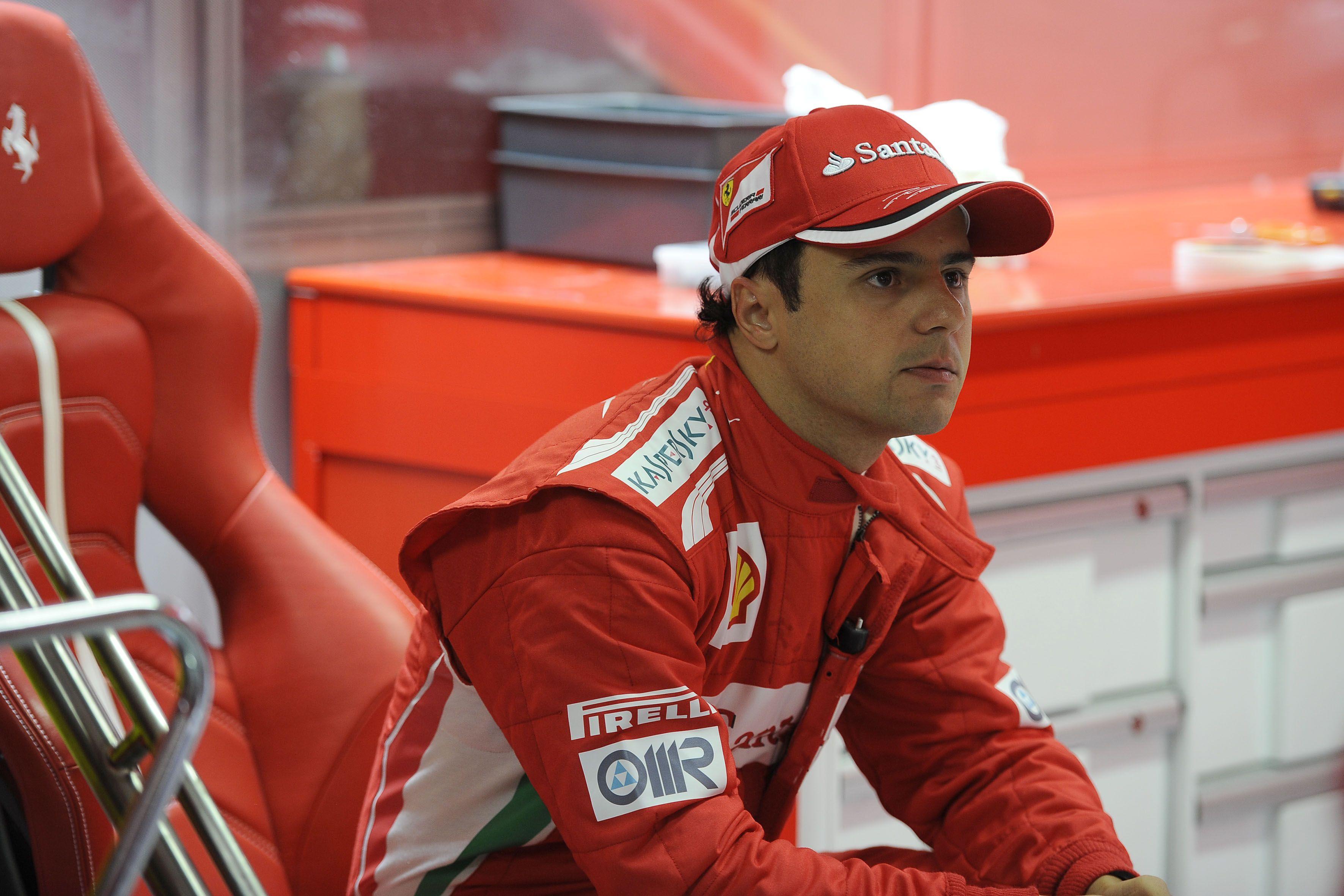 Felipe Massa Ferrari Seat