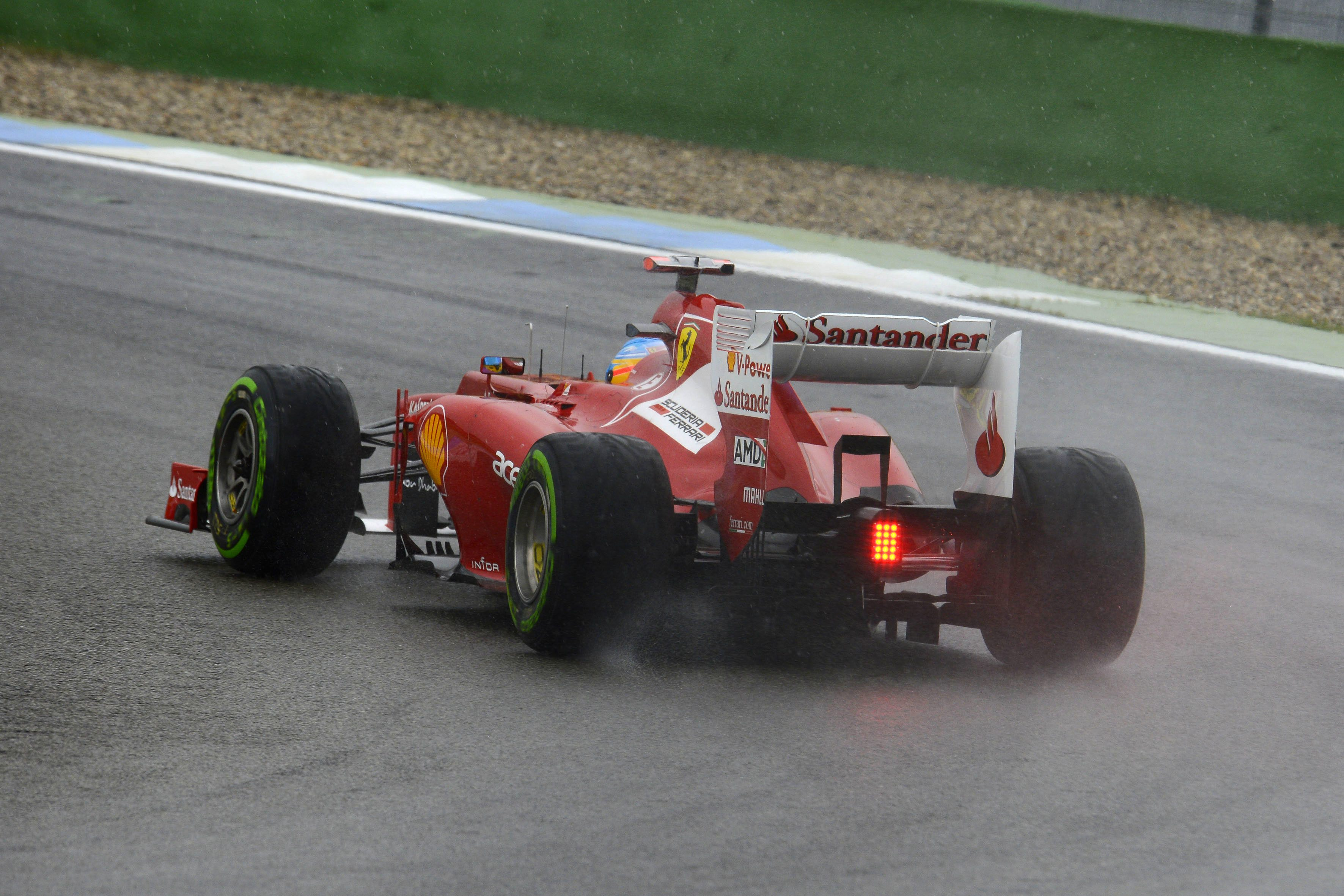 Fernando Alonso Rear