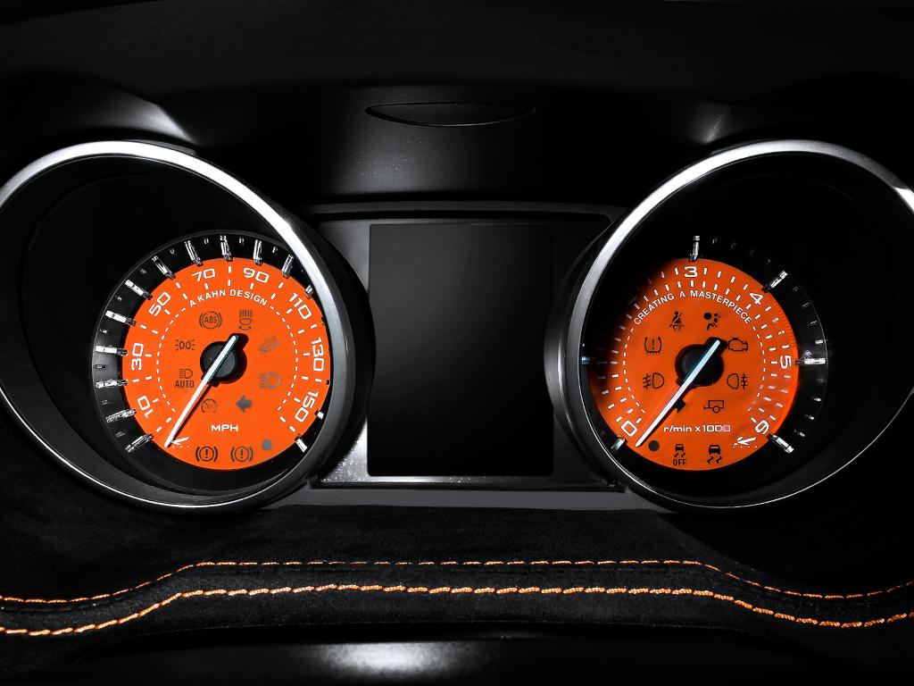 Kahn RS250 Evoque  Vesuvius Edition Range Rover Dials