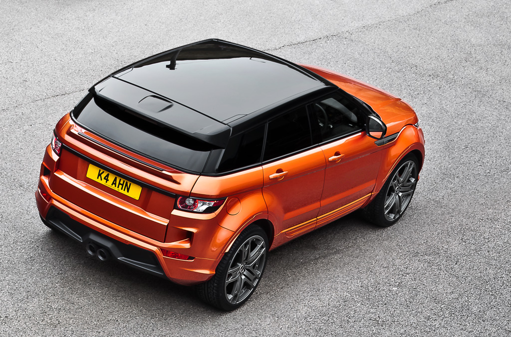 Kahn RS250 Evoque  Vesuvius Edition Range Rover Roof