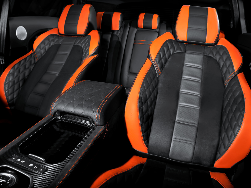 Kahn RS250 Evoque  Vesuvius Edition Range Rover Seats