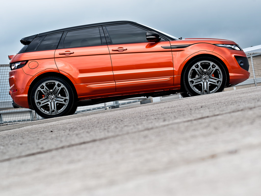Kahn RS250 Evoque  Vesuvius Edition Range Rover Side