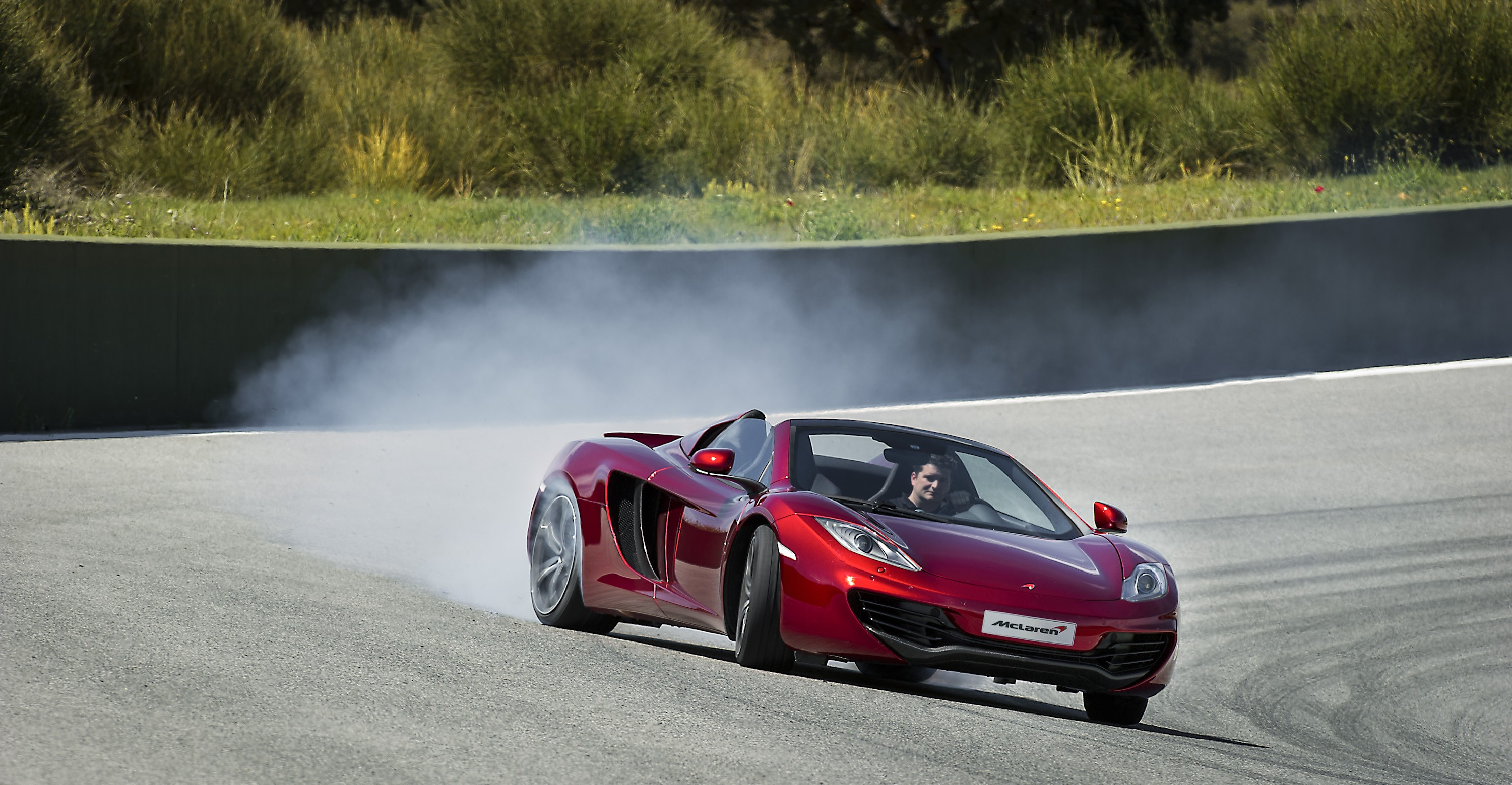 McLaren MP4-12C Spider Drifting