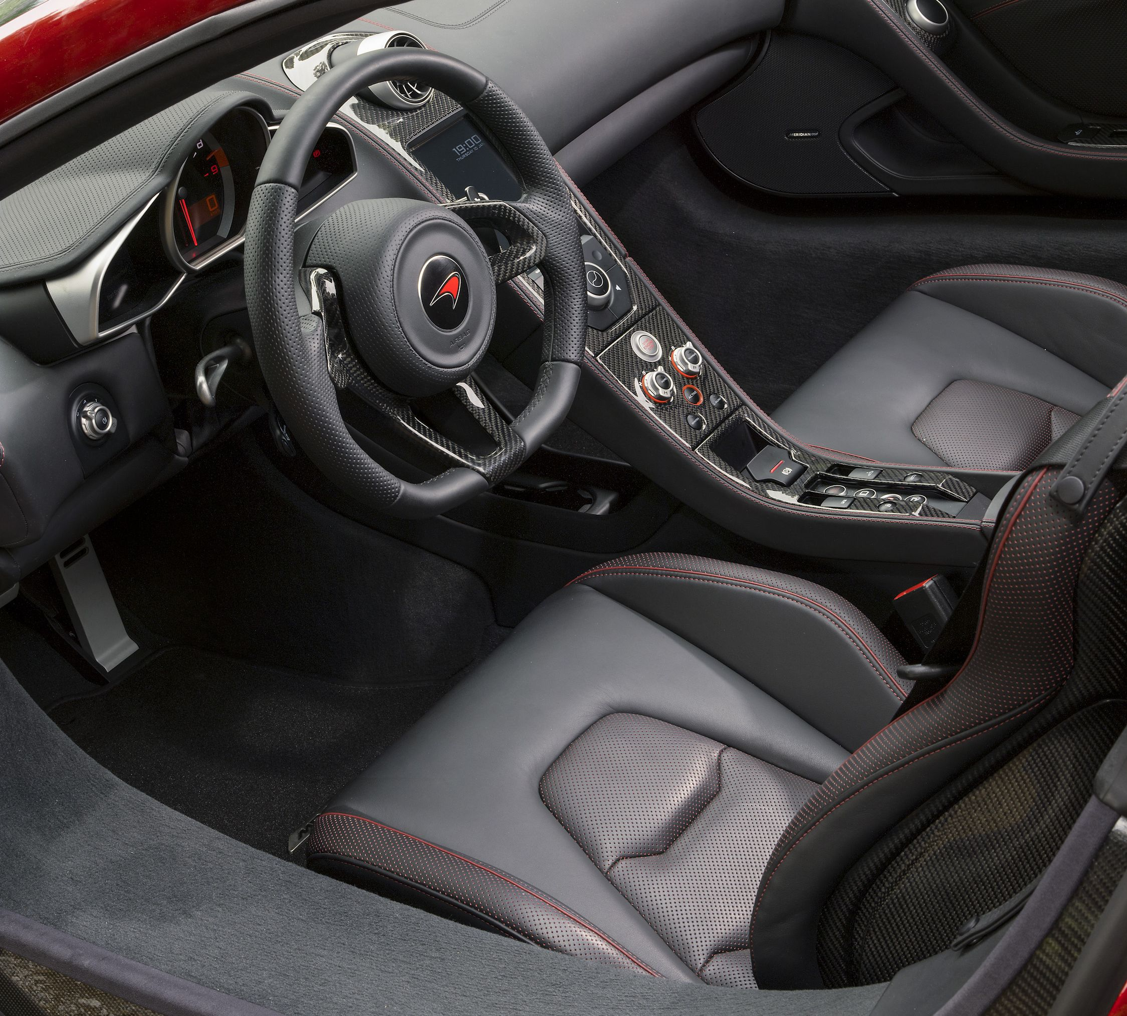 McLaren MP4-12C Spider Interior