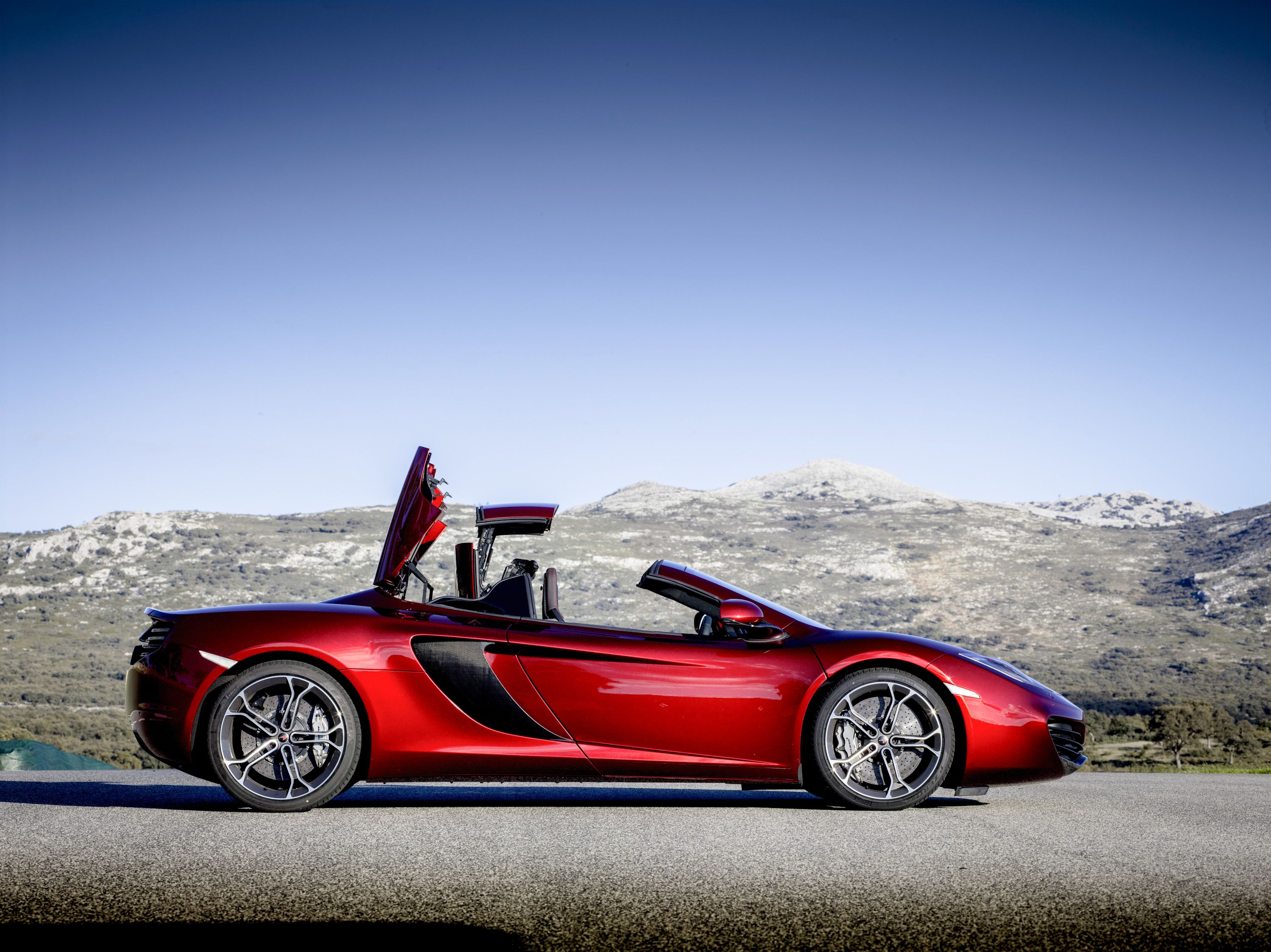 McLaren MP4-12C Spider Roof